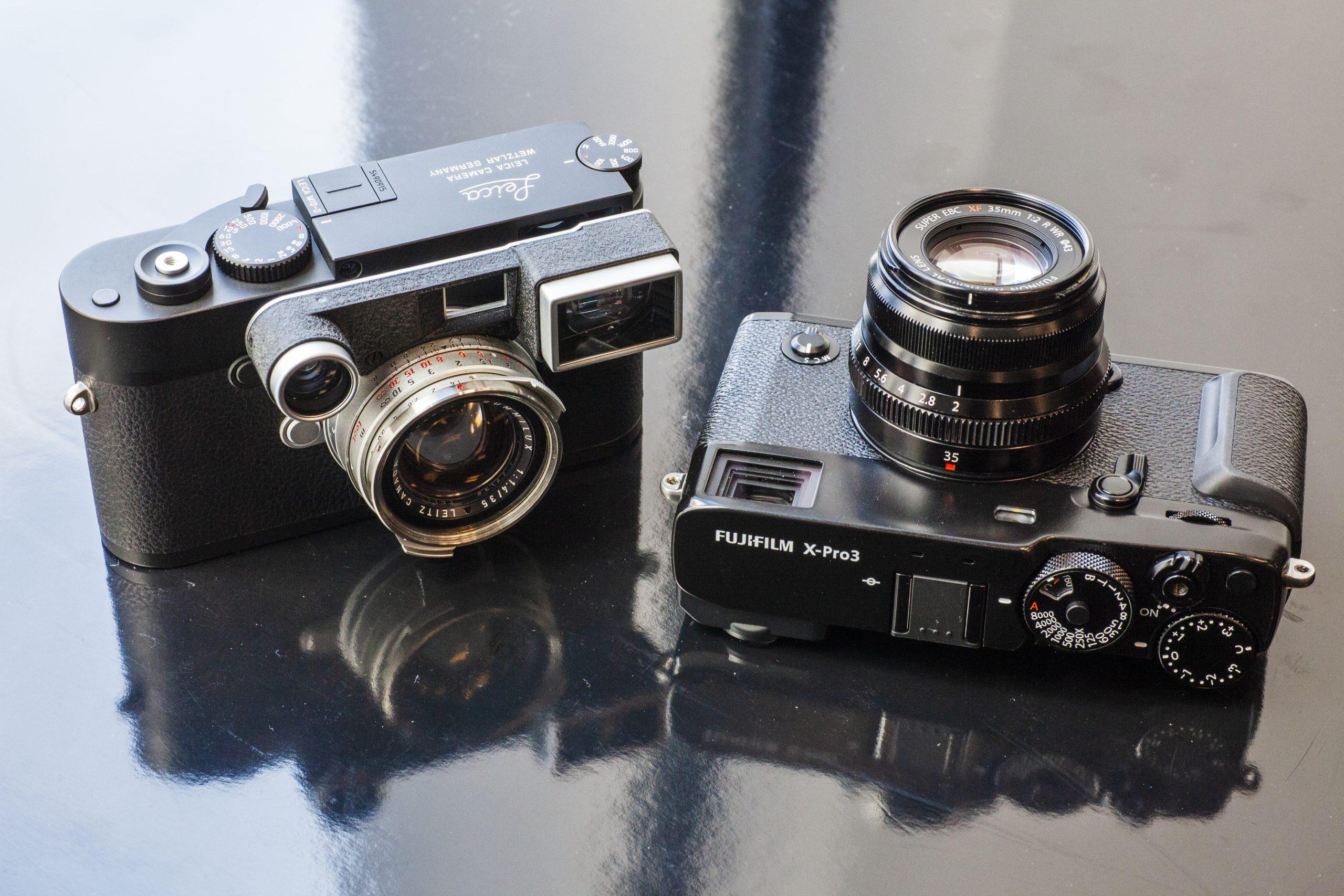 【おいしいカメラ#001】LEICA M10-D と FUJIFILM X-PRO3
