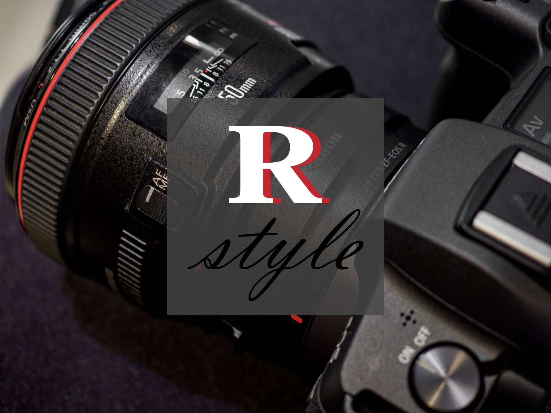 【Canon】 R STYLE ~マウントアダプター EF-EOS R~