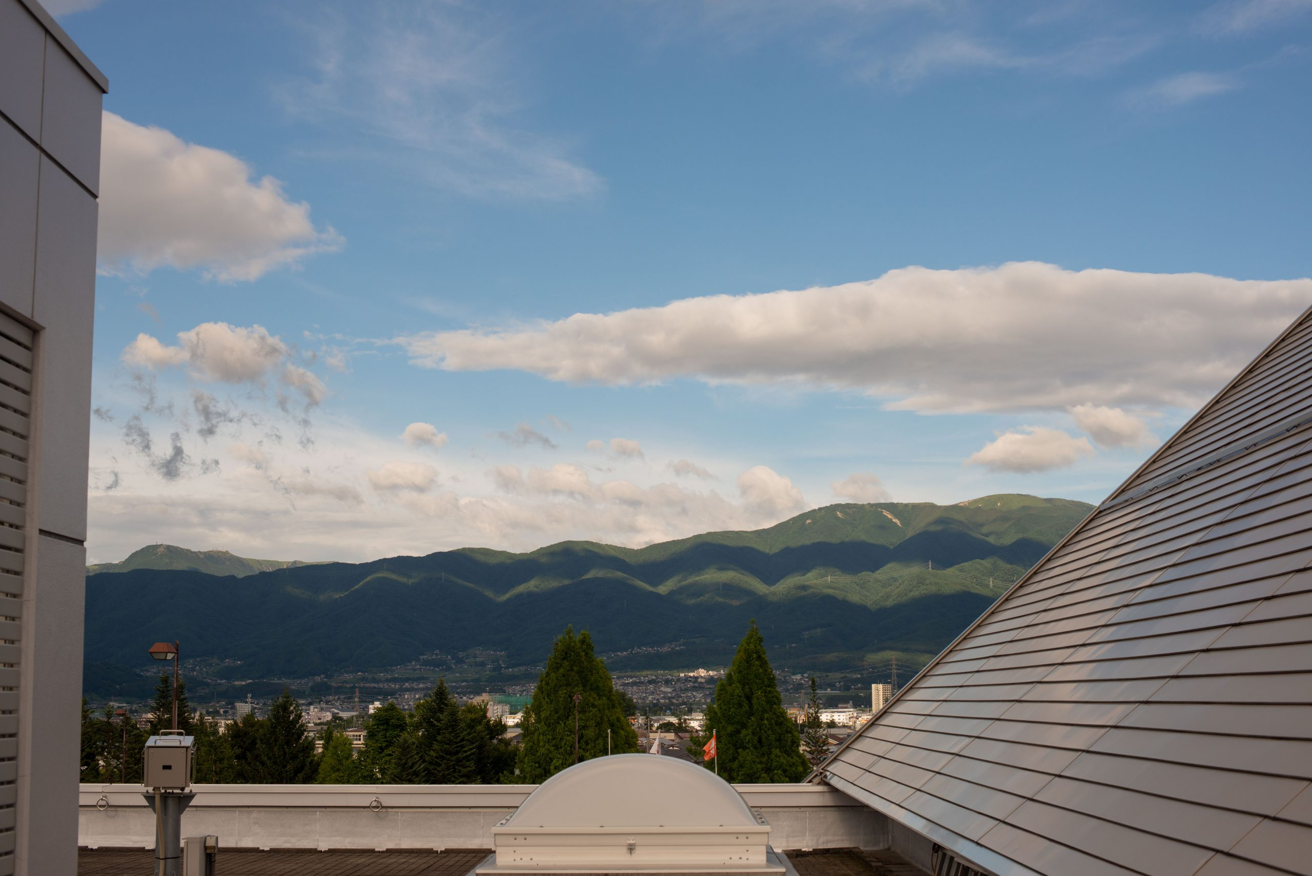【Nikon】スナップショット~夏空に雲