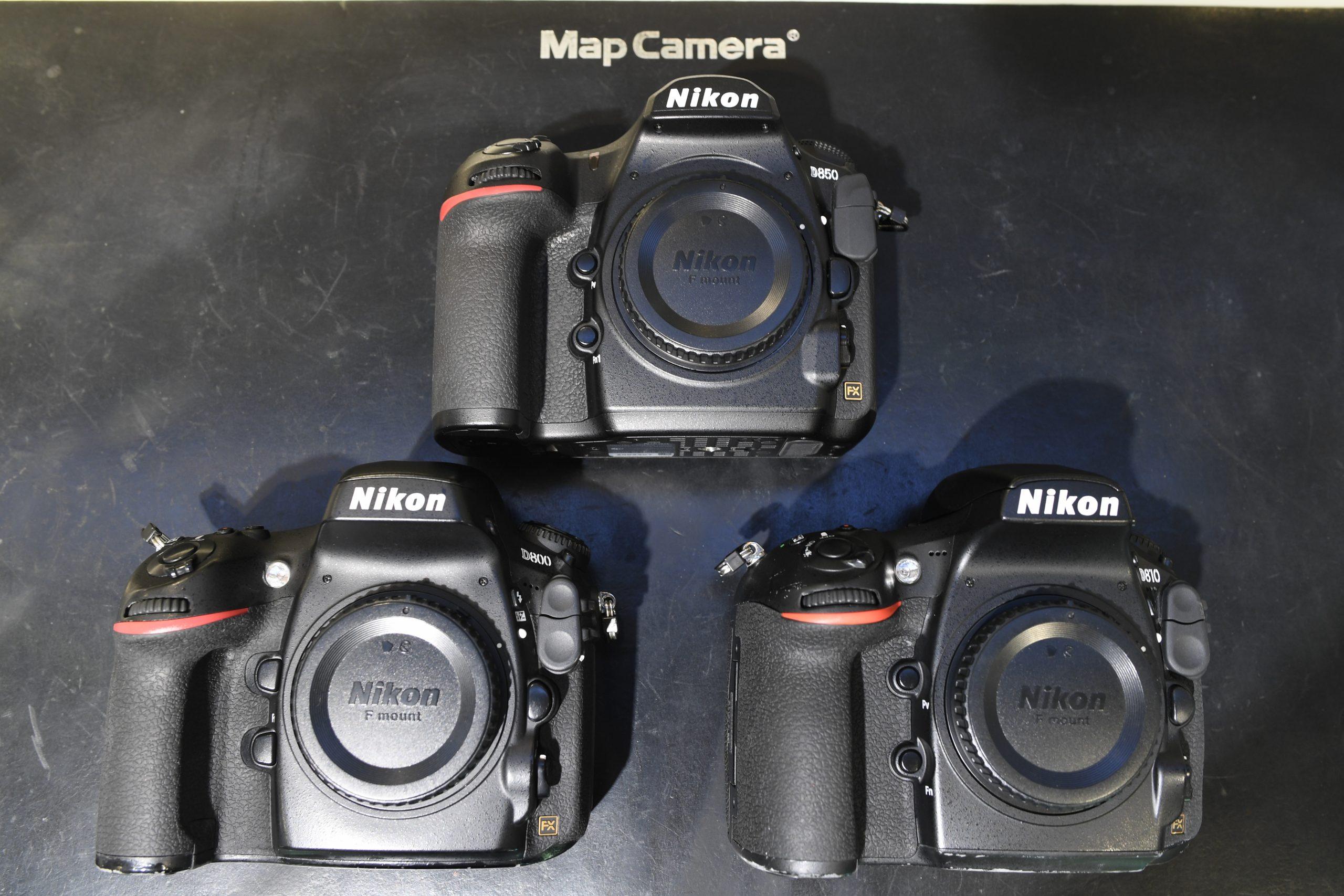 【大人の自由研究】D800シリーズのダイナミックレンジ比較【Nikon】