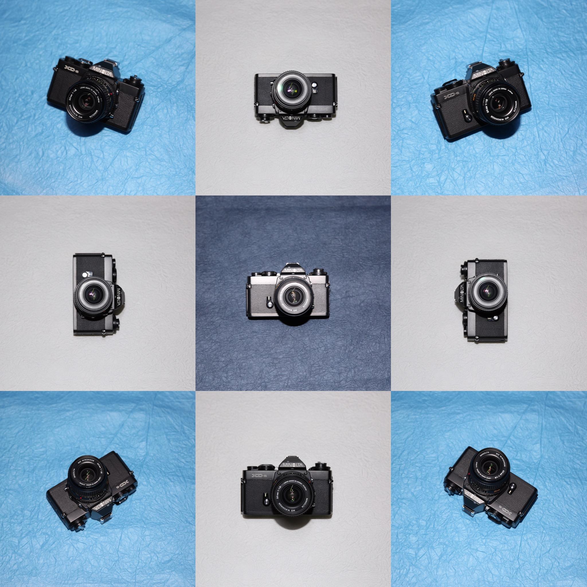【MapCamera × Photo Movie】MINOLTA XD-s
