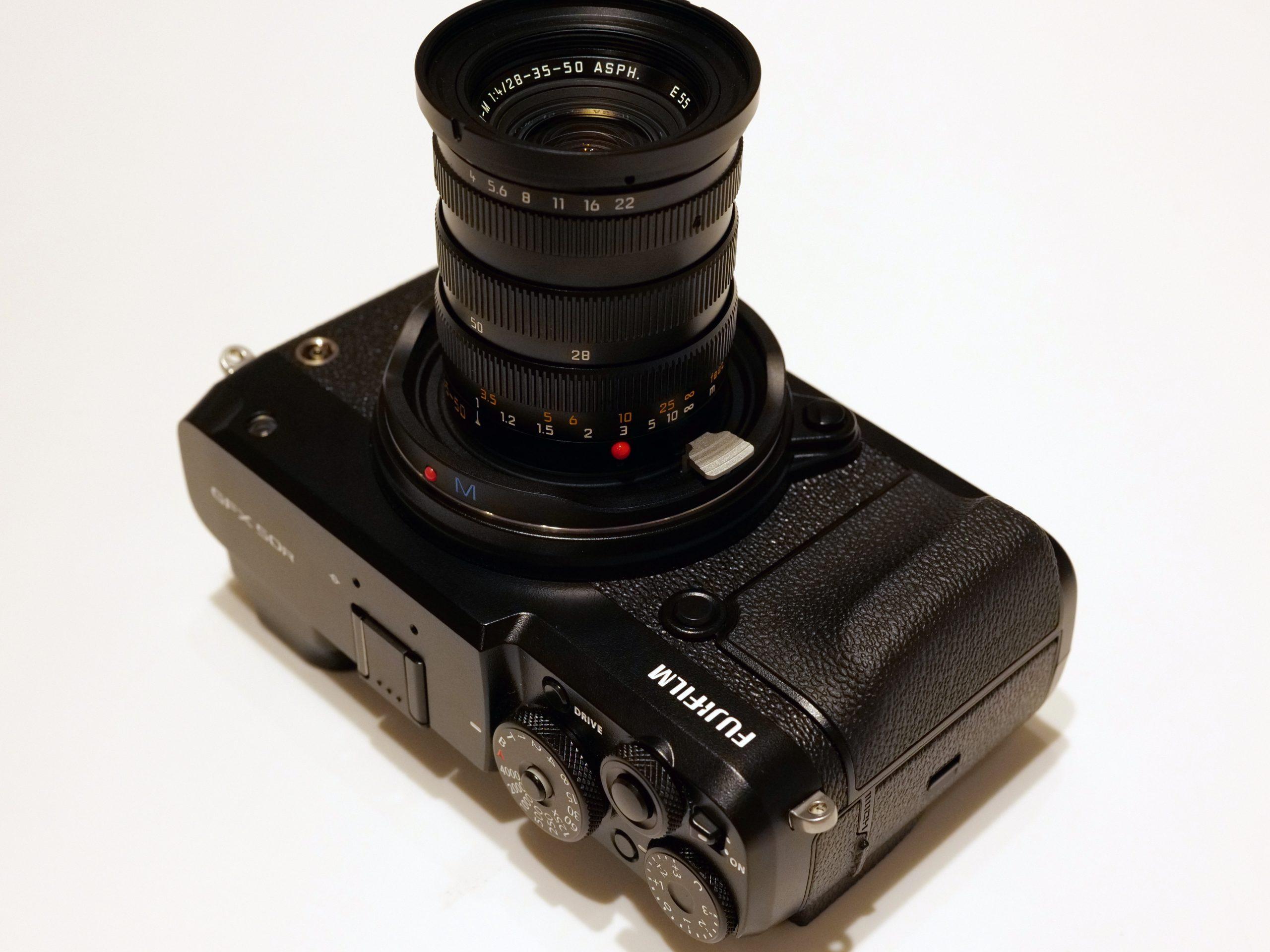 """【FUJIFILM】付けたらどうなる?GFX+ライカMレンズ~あの""""3焦点切替レンズ""""はどうなる!?その1~"""