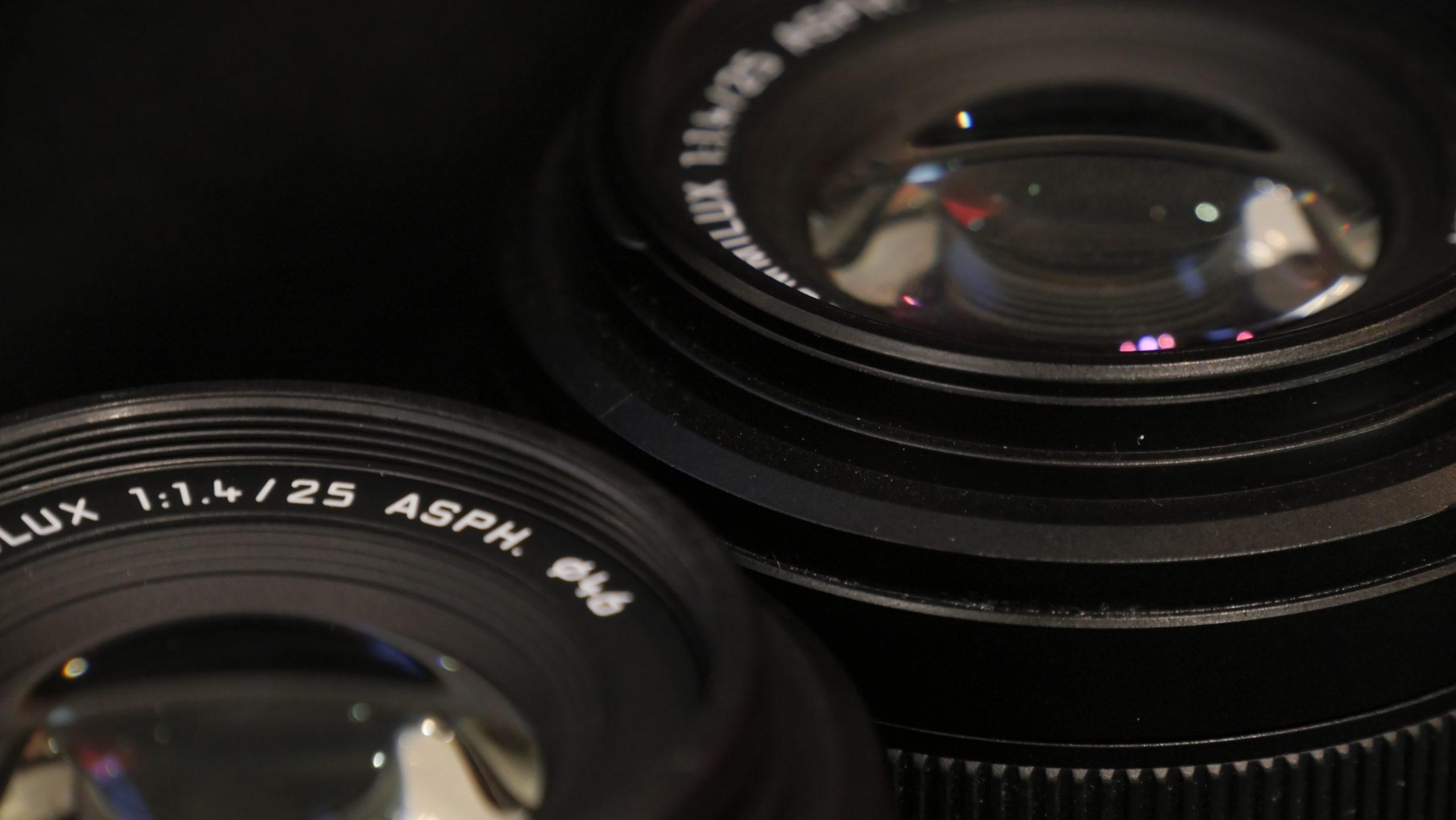 【新旧共存】Panasonic Leica 25mm F1.4