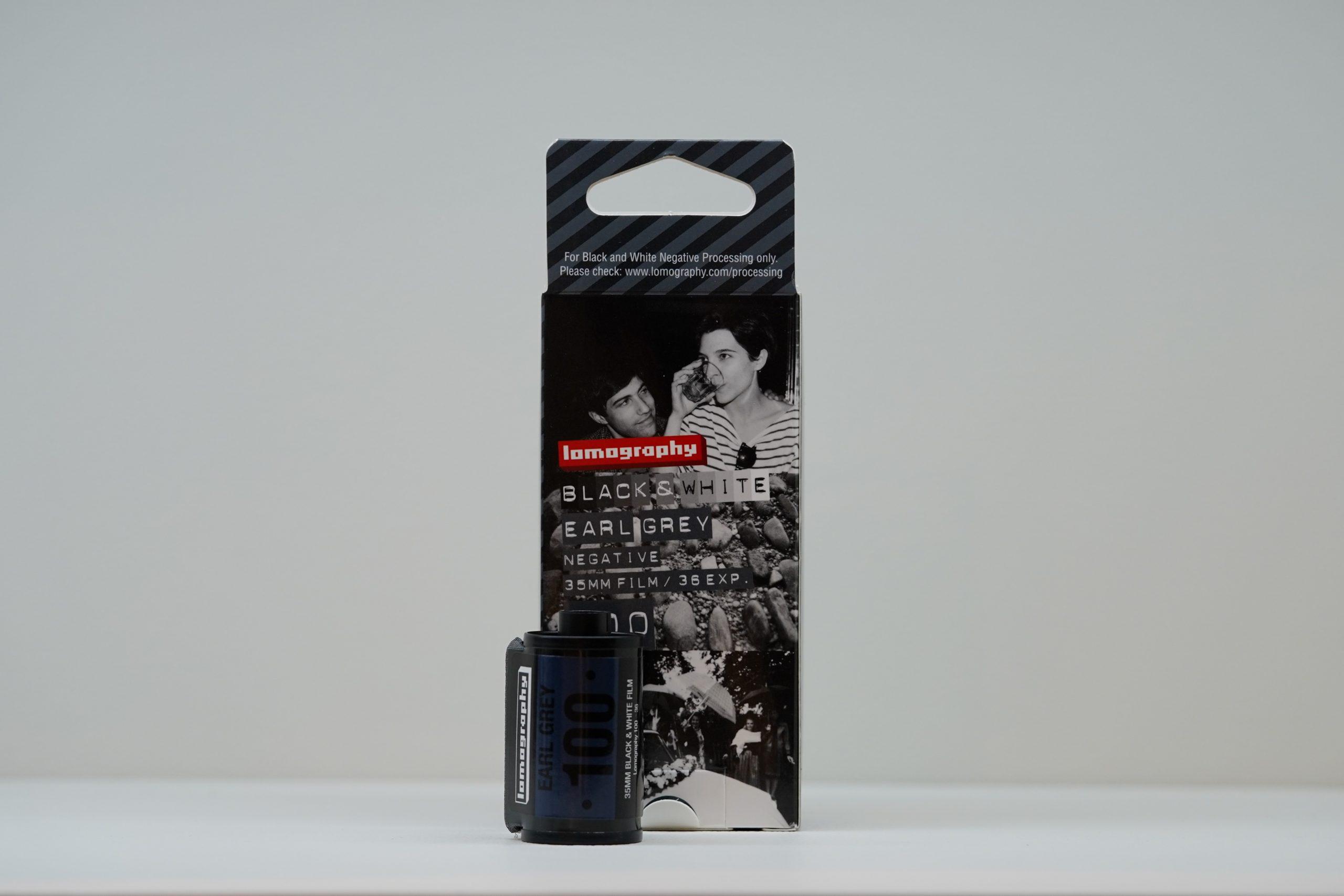 銀塩写真列伝 Lomography 100/36 Earl Grey B&W編