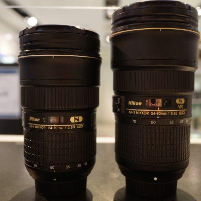 【新旧共存】AF-S NIKKOR 24-70mm F2.8 【Nikon】