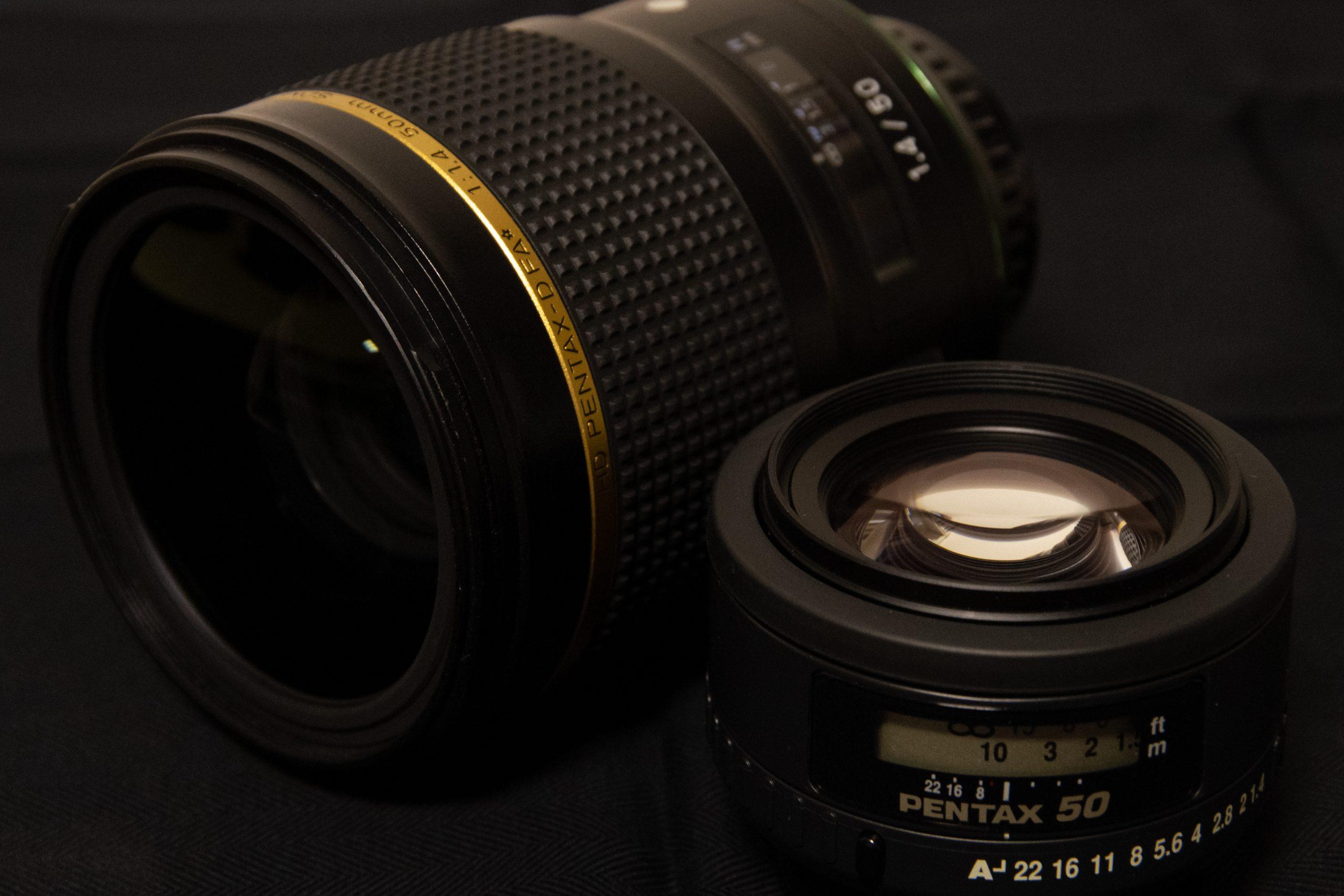 【新旧共存】PENTAX 標準単焦点レンズ50mm F1.4