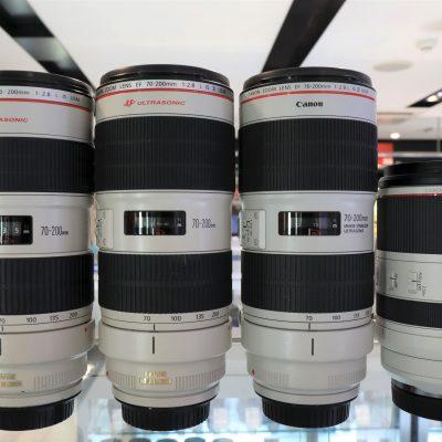 【新旧共存】Canon 70-200mm F2.8L IS USM比較