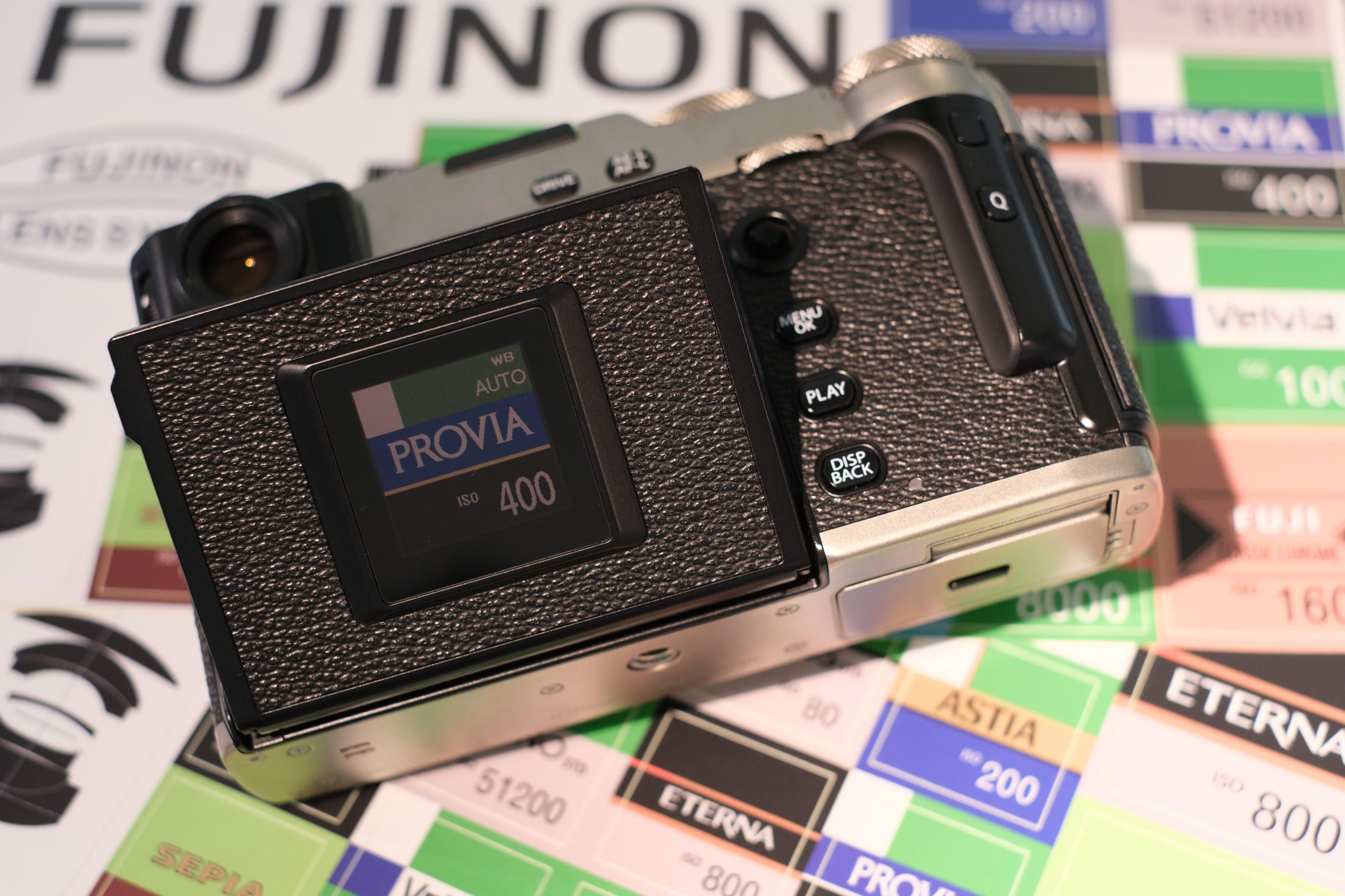 【FUJIFILM】ステッカー × X-Pro3 フィルムシミュレーション写真集