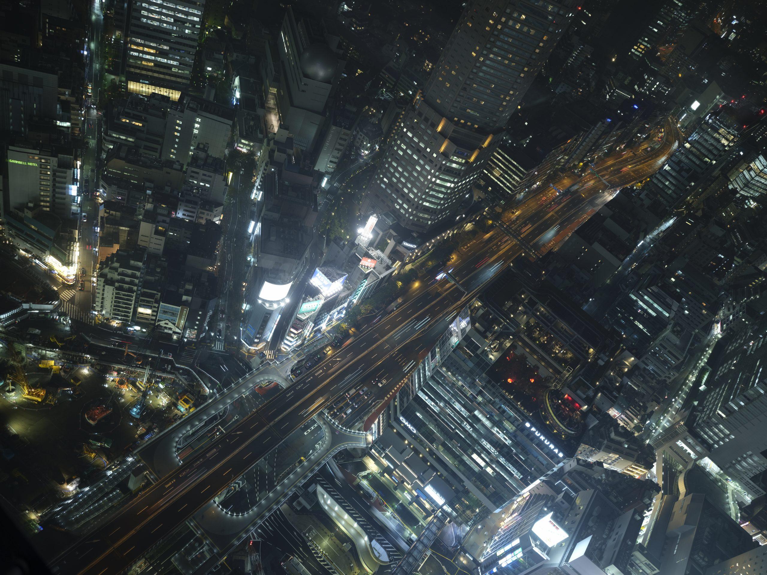【FUJIFILM】Large format × Shibuya/at night