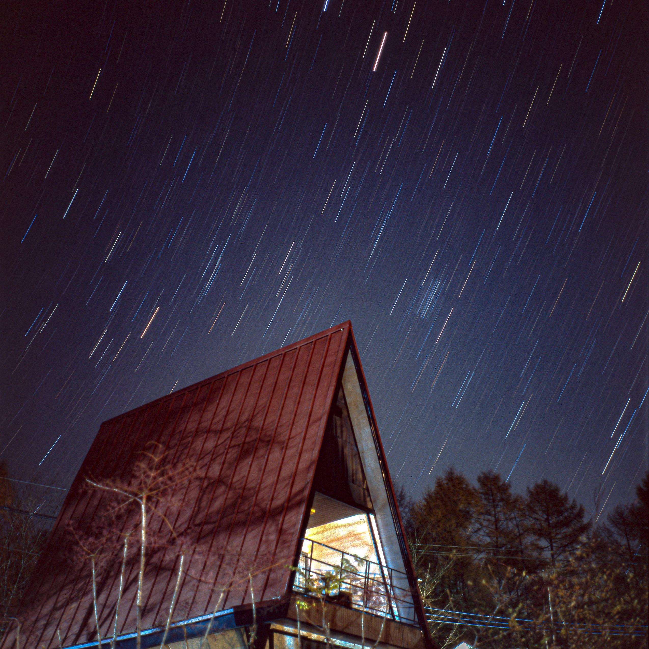 【Go To フォト】フィルムで紅葉と星を撮る【星編】
