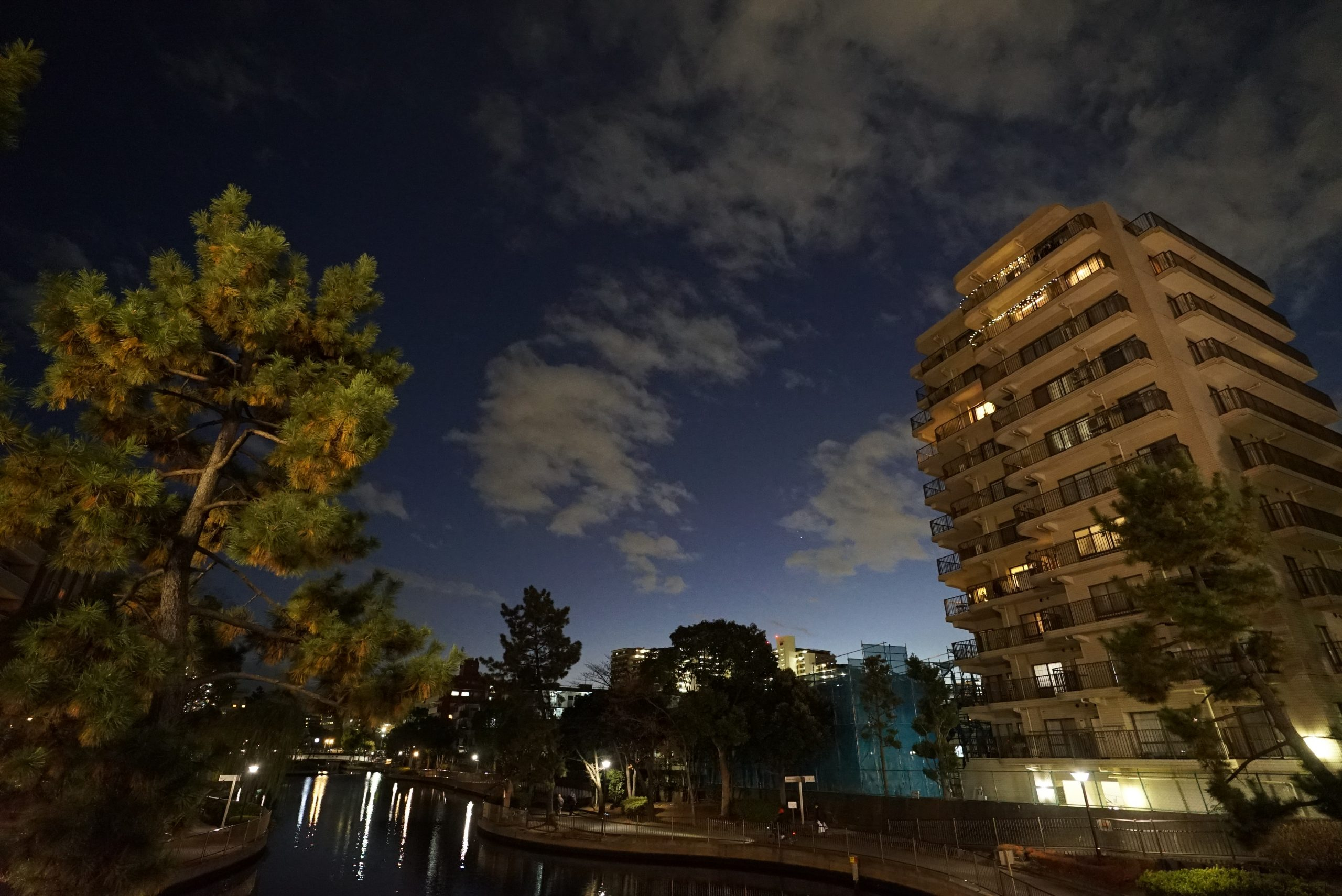 【SONY】a7Sllで夜景を撮る