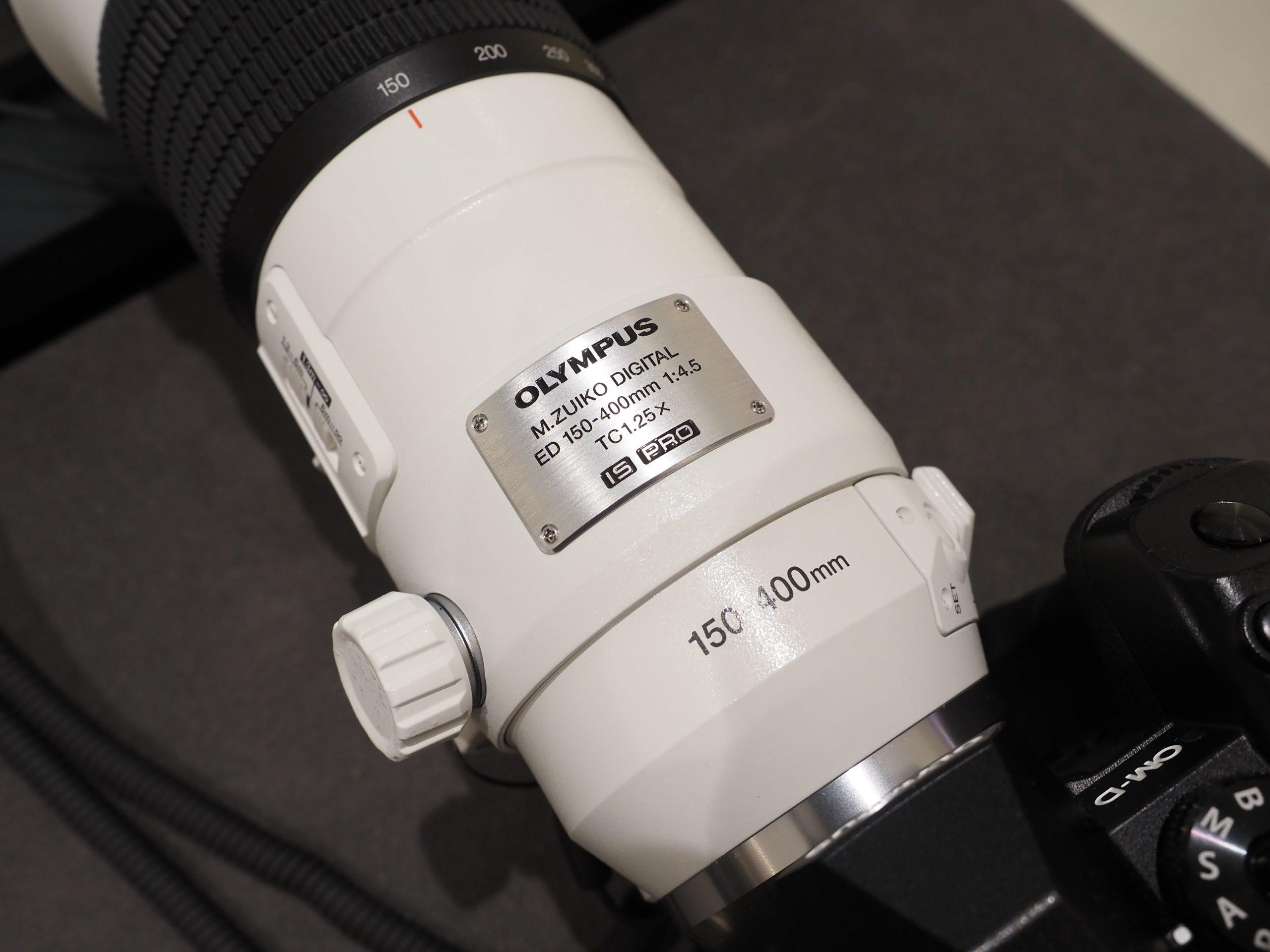 【OLYMPUS】M.ZUIKO DIGITAL ED 150-400mm F4.5 TC1.25x IS PROファーストインプレッション