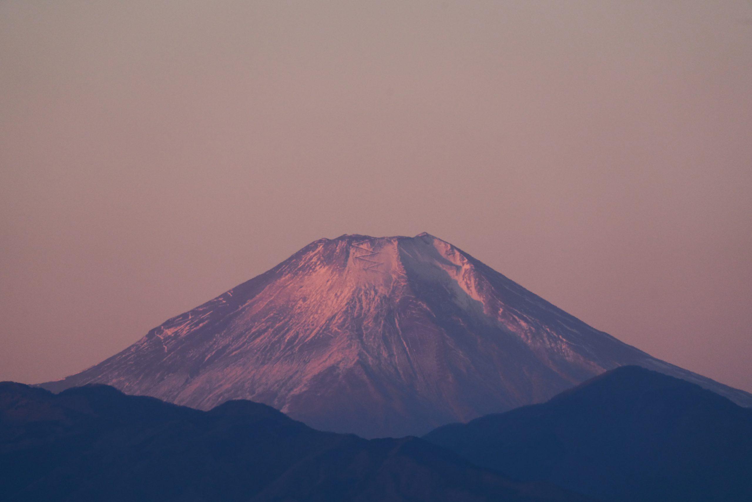 【SONY】まるで望遠鏡!?超望遠ズームで見る冬の富士