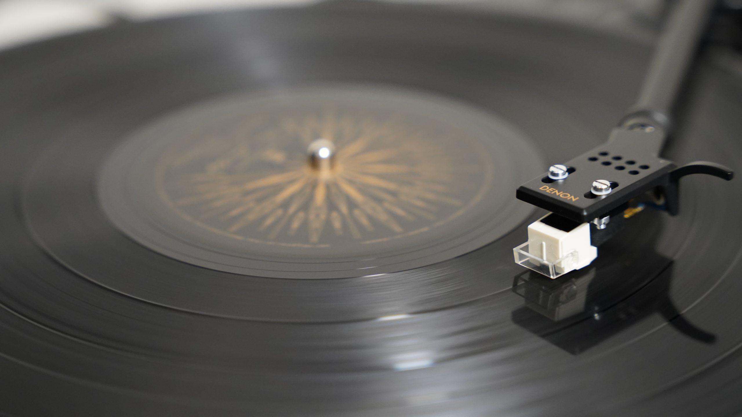 【SONY】レコード再生の瞬間を撮影してみました