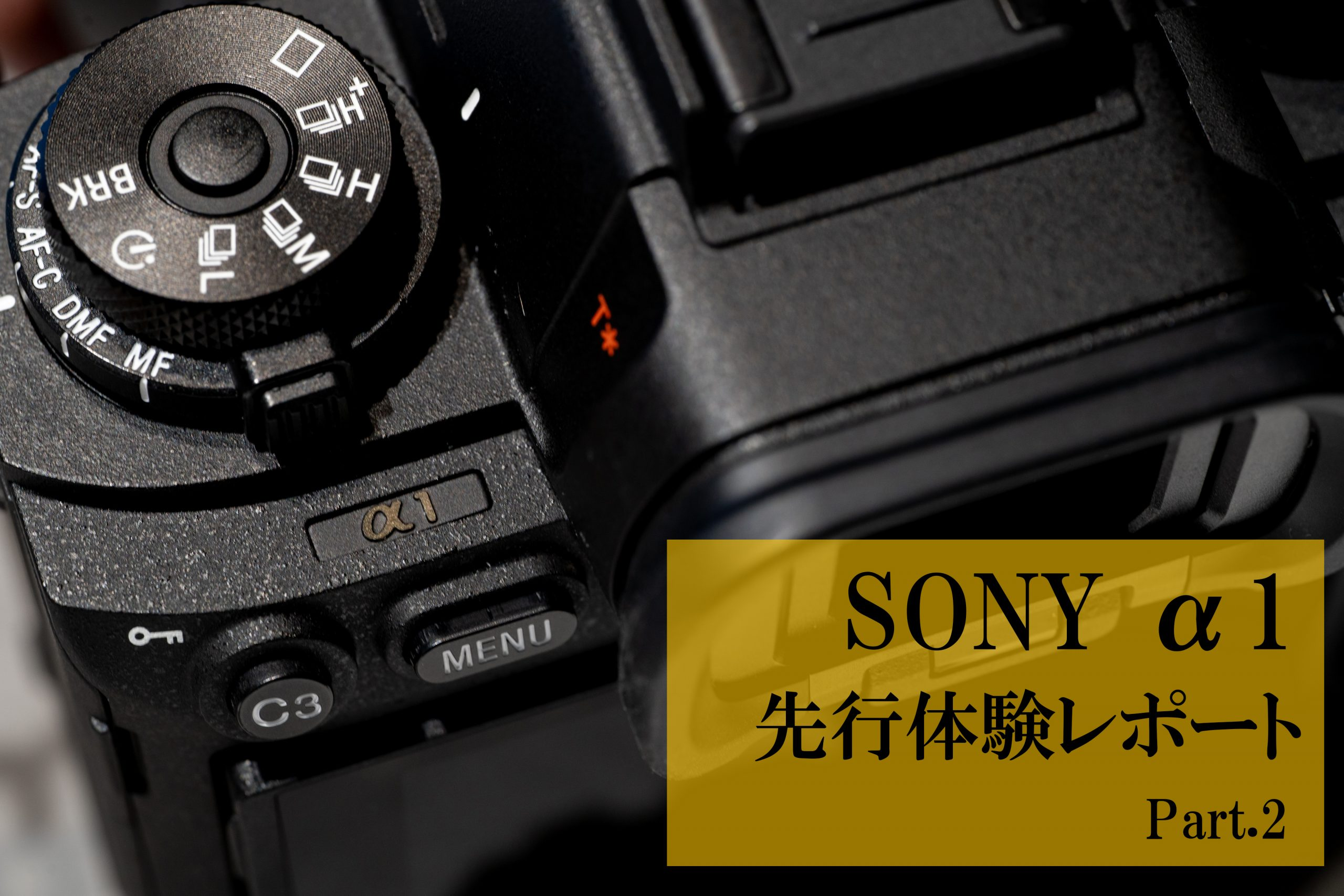 【SONY】α1 先行展示 体験レポート Part.2
