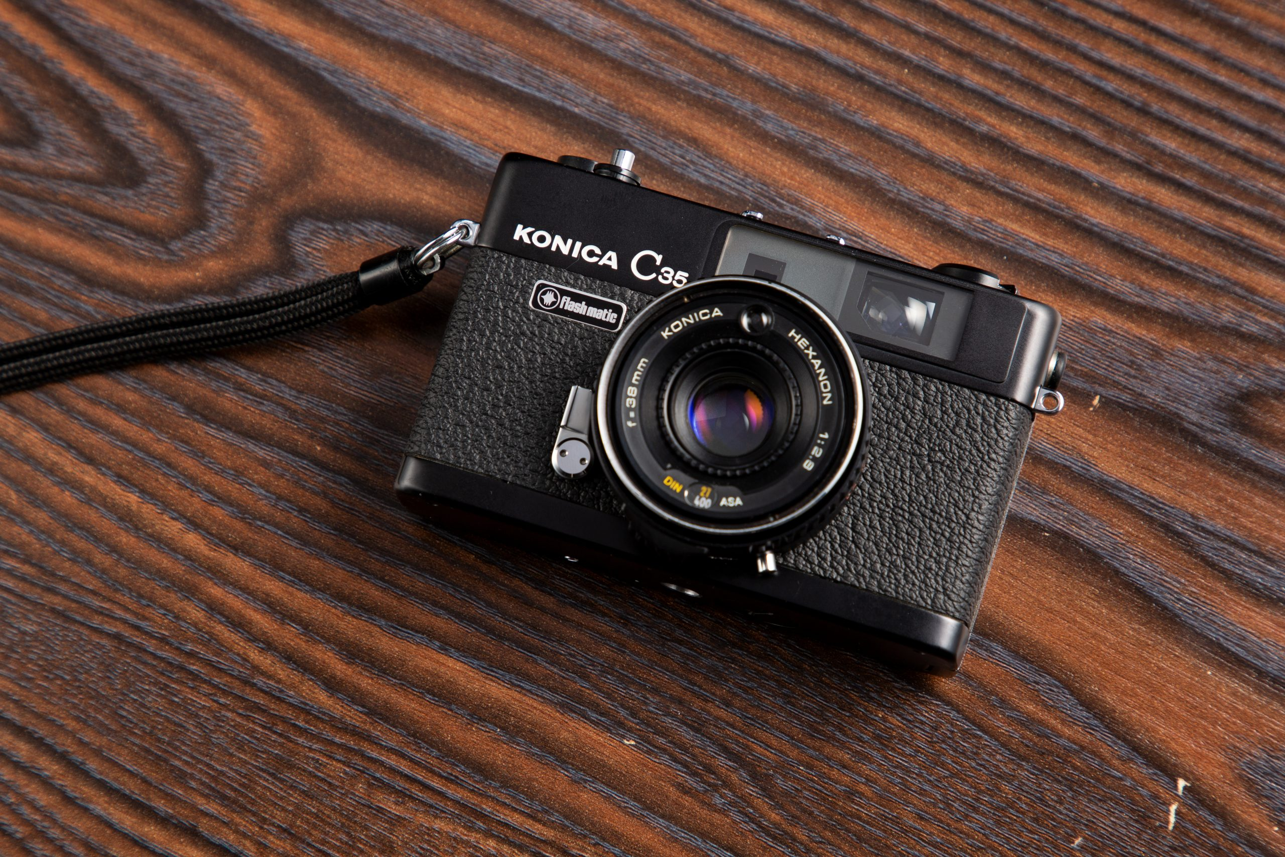 【Konica】C35 flash maticでスナップ写真