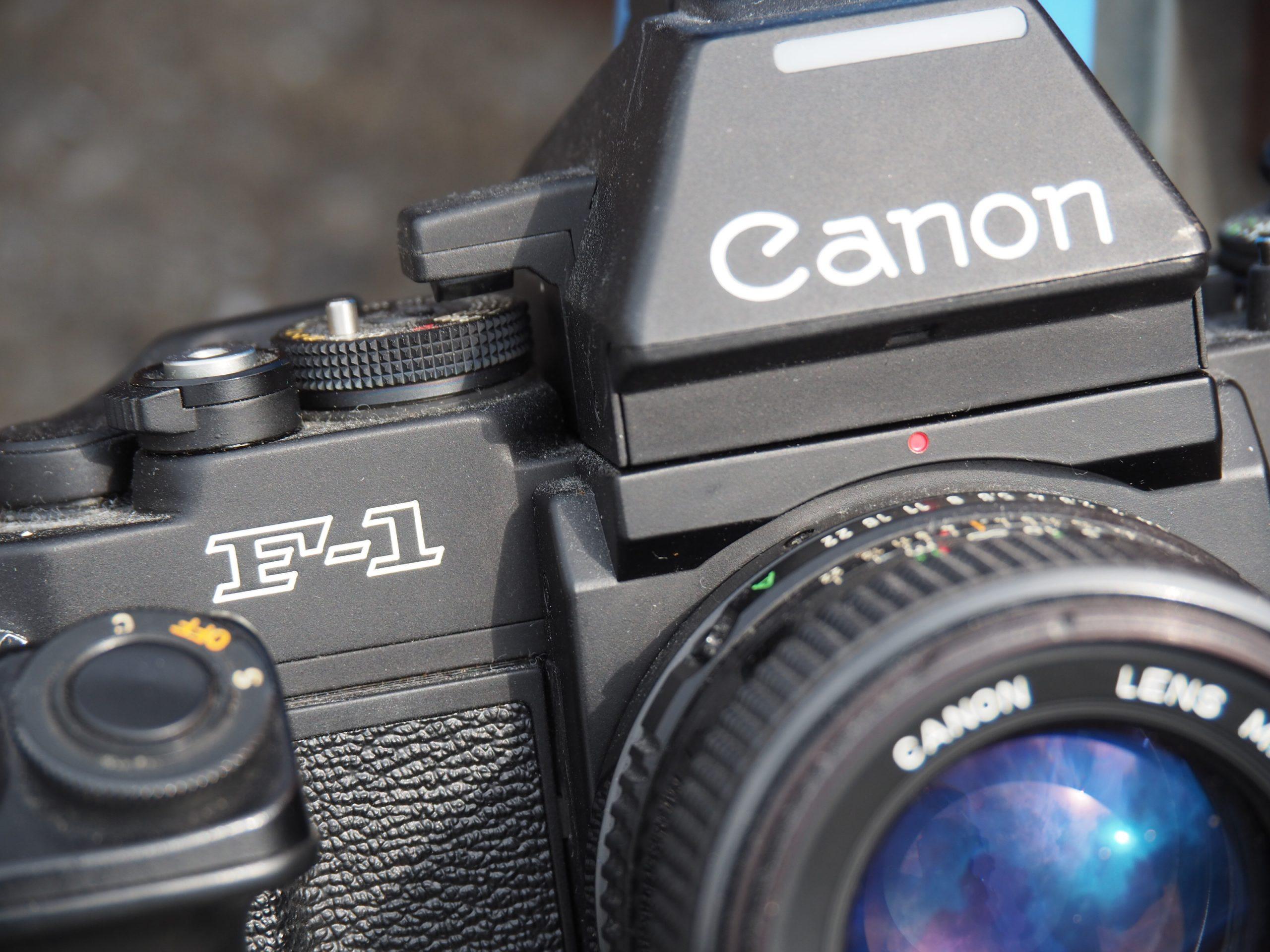 【Canon】カメラを撮る