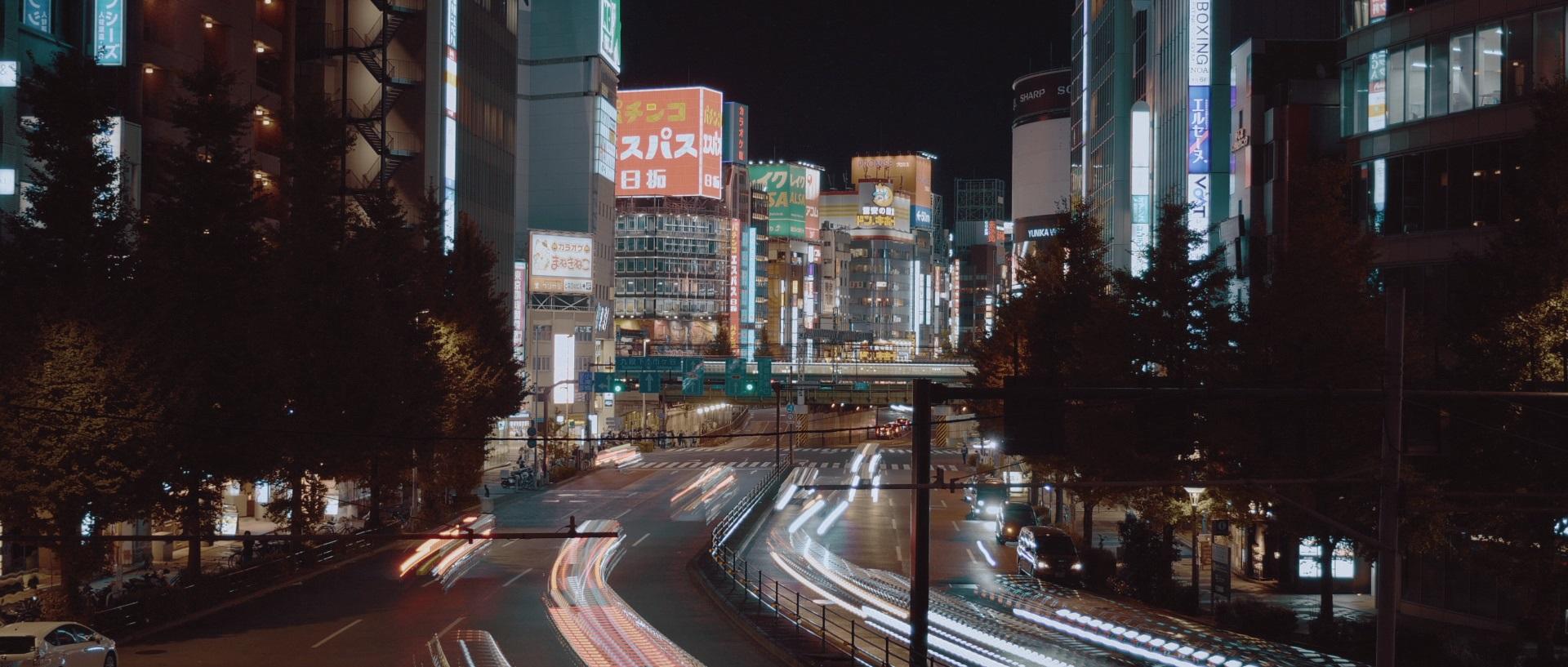 【Panasonic】GH5S 動画で長秒露光撮影 -光跡を撮る-