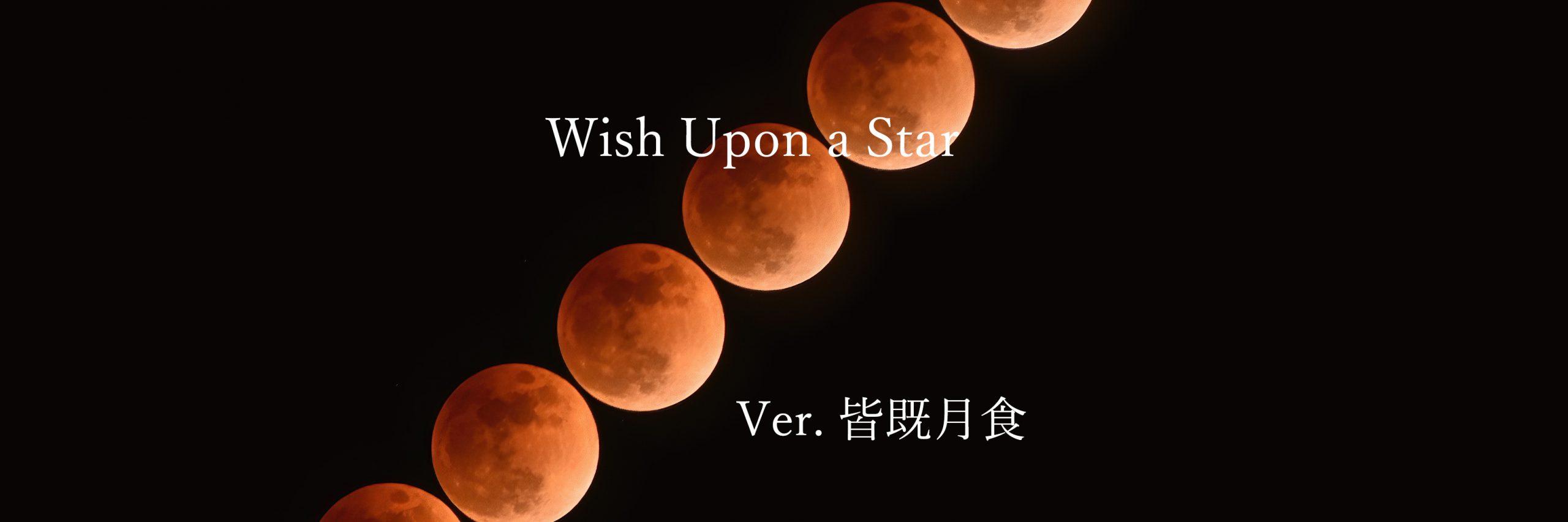 【Wish Upon a Star】皆既月食を撮ろう