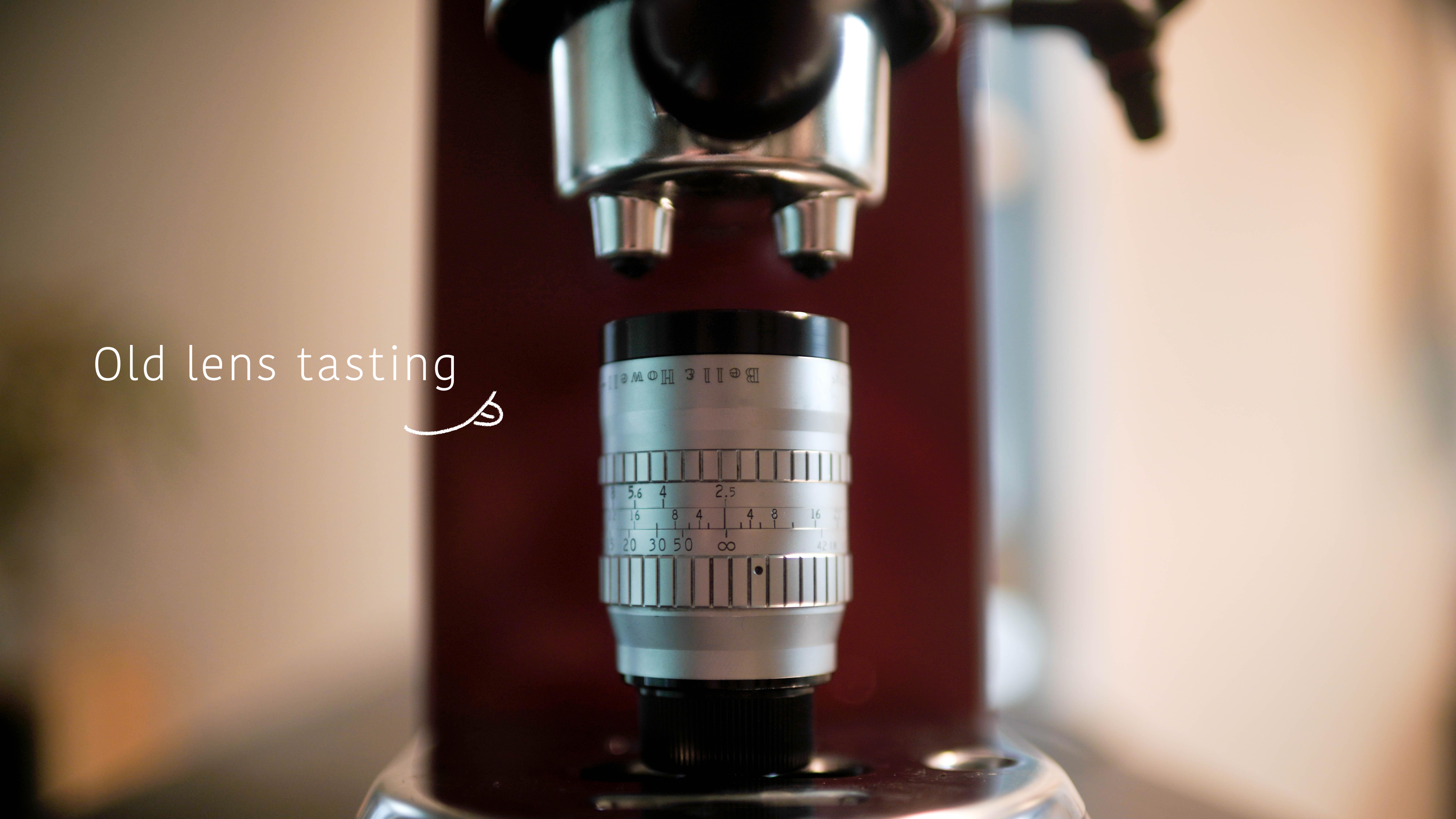 【etc.】Lens tasting 3 P.Angenieux 3inch F2.5