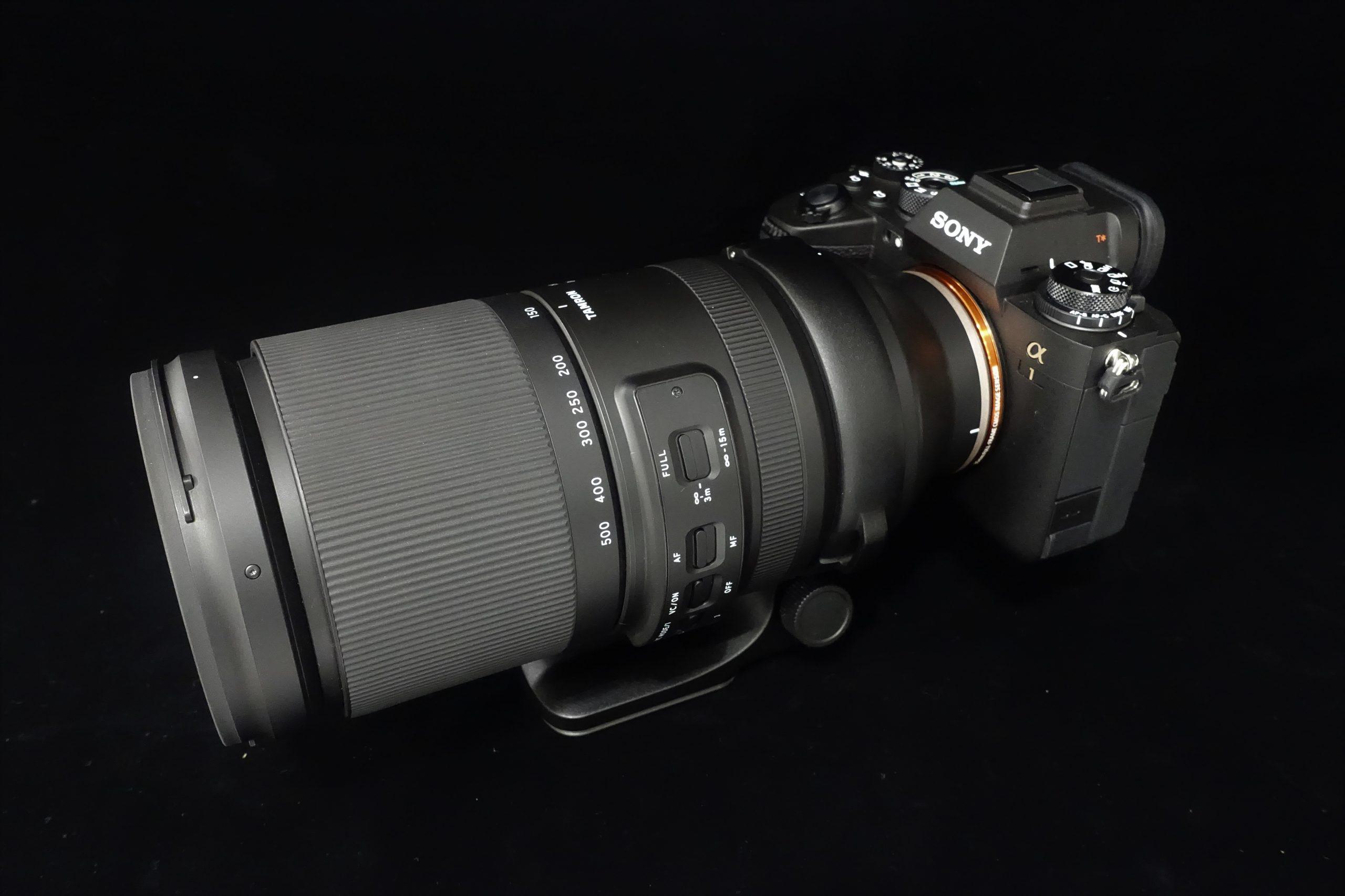 【TAMRON】150-500mm F5-6.7 DiIII VC VXD A057S【外観比較】