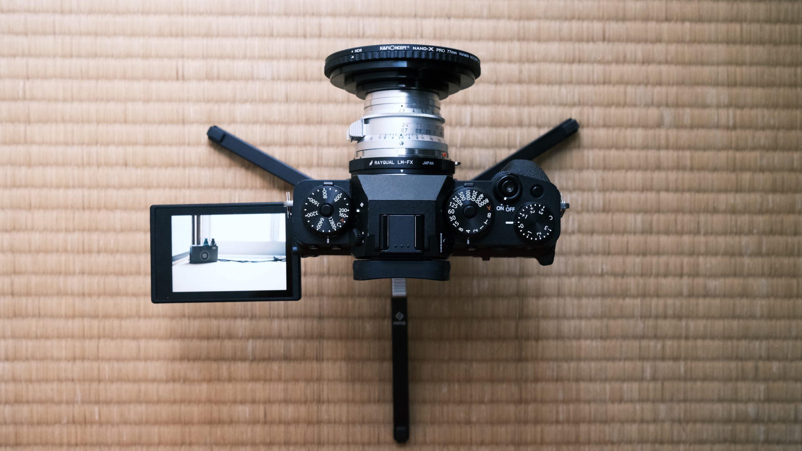 【FUJIFILM】X-T4 × Leica ズマロン M35mm F2.8で動画を録る。