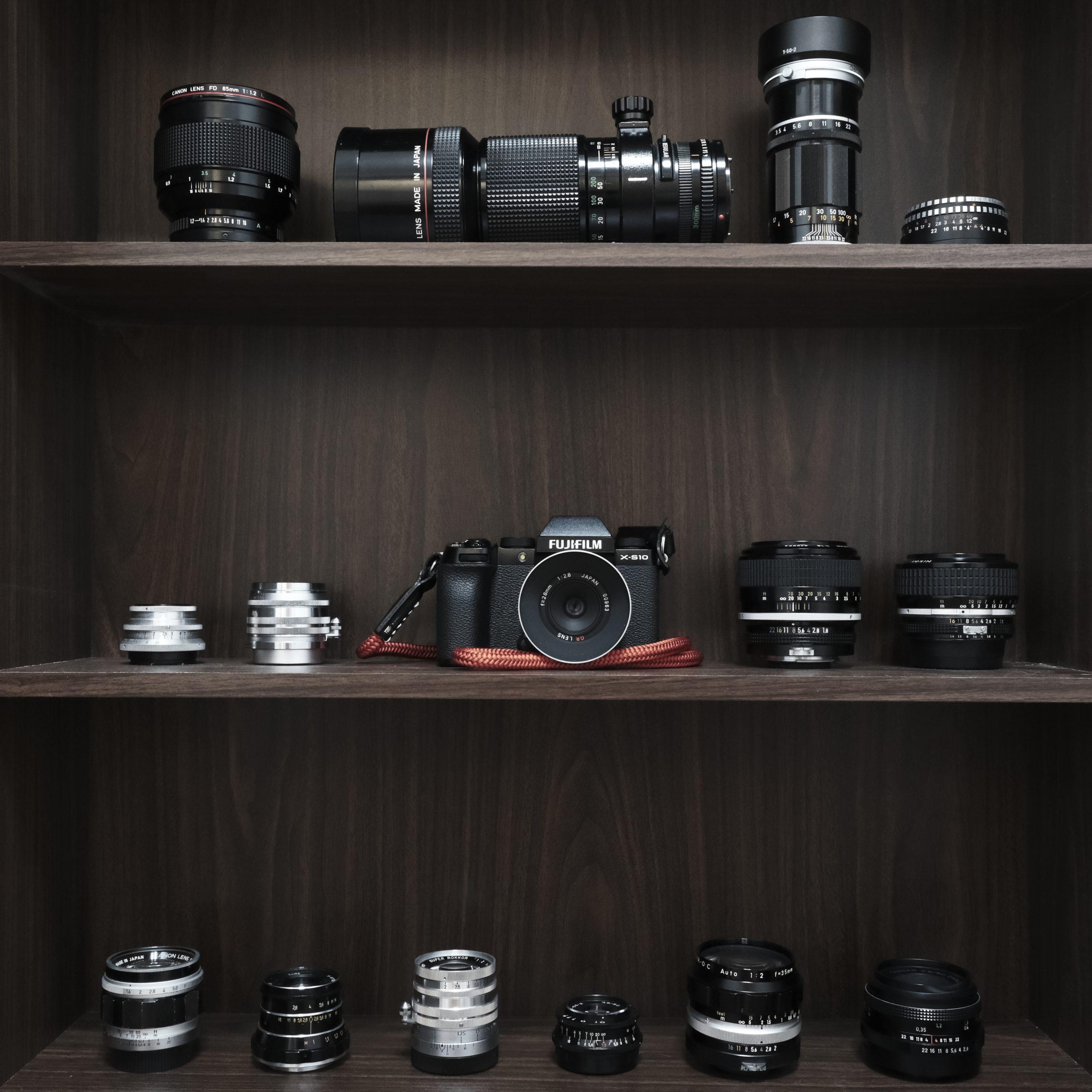 【FUJIFILM】X-S10とオールドレンズ Vol1  RICOH GR 28mm f2.8 L