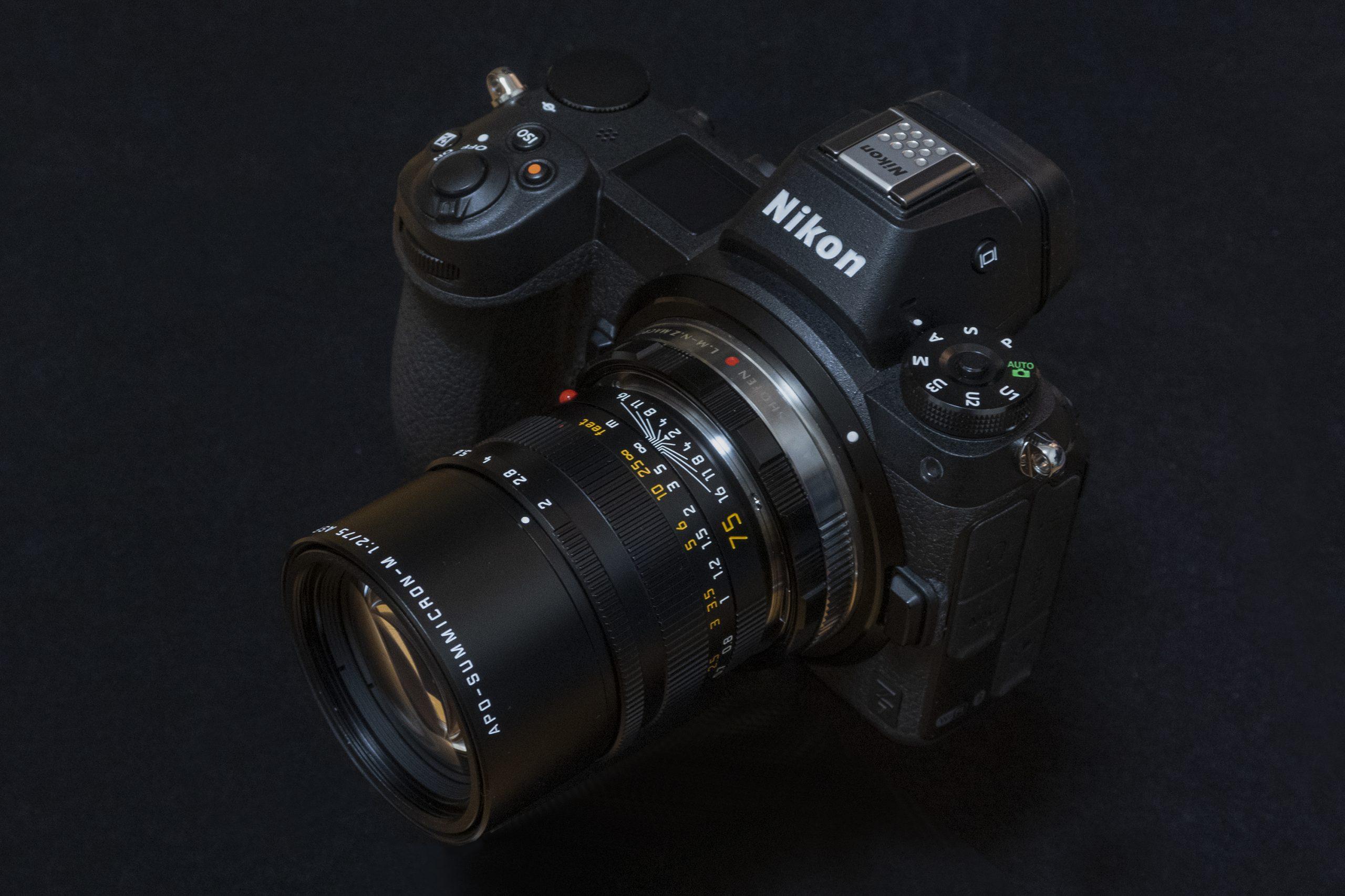 Nion Z7 +アポズミクロンM75mm