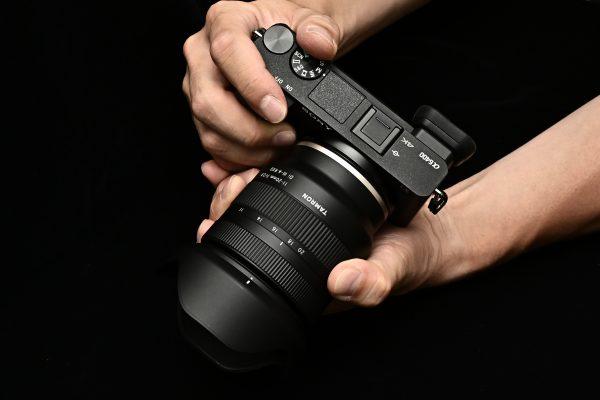 本日発売!【TAMRON】11-20mm F2.8 DiIII-A RXD B060S【外観写真】