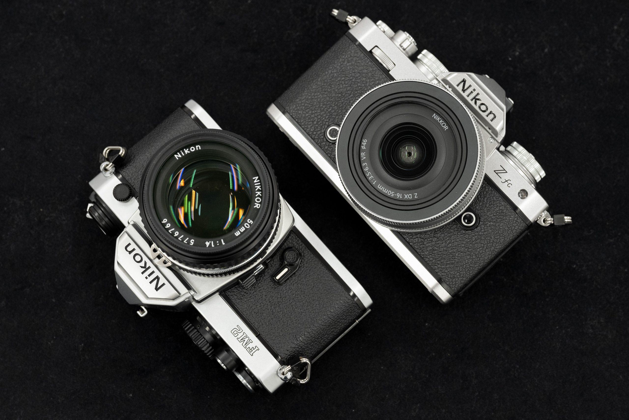 Nikon Z fcとFM2