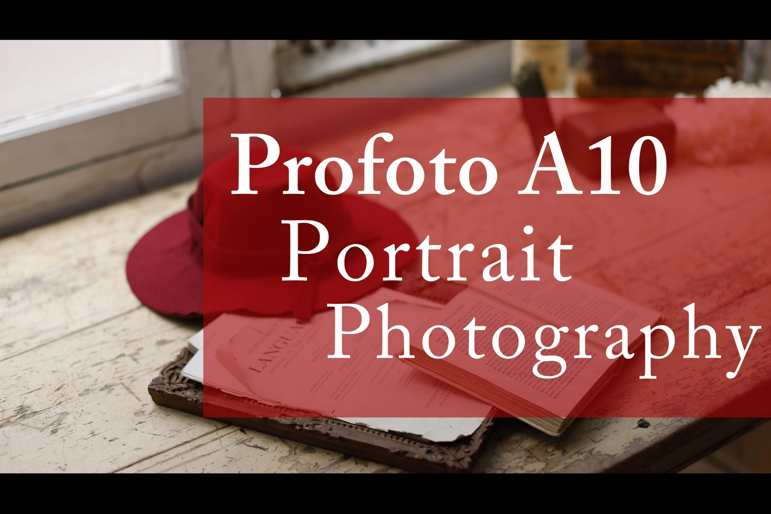 【Profoto】A10 Portrait photography