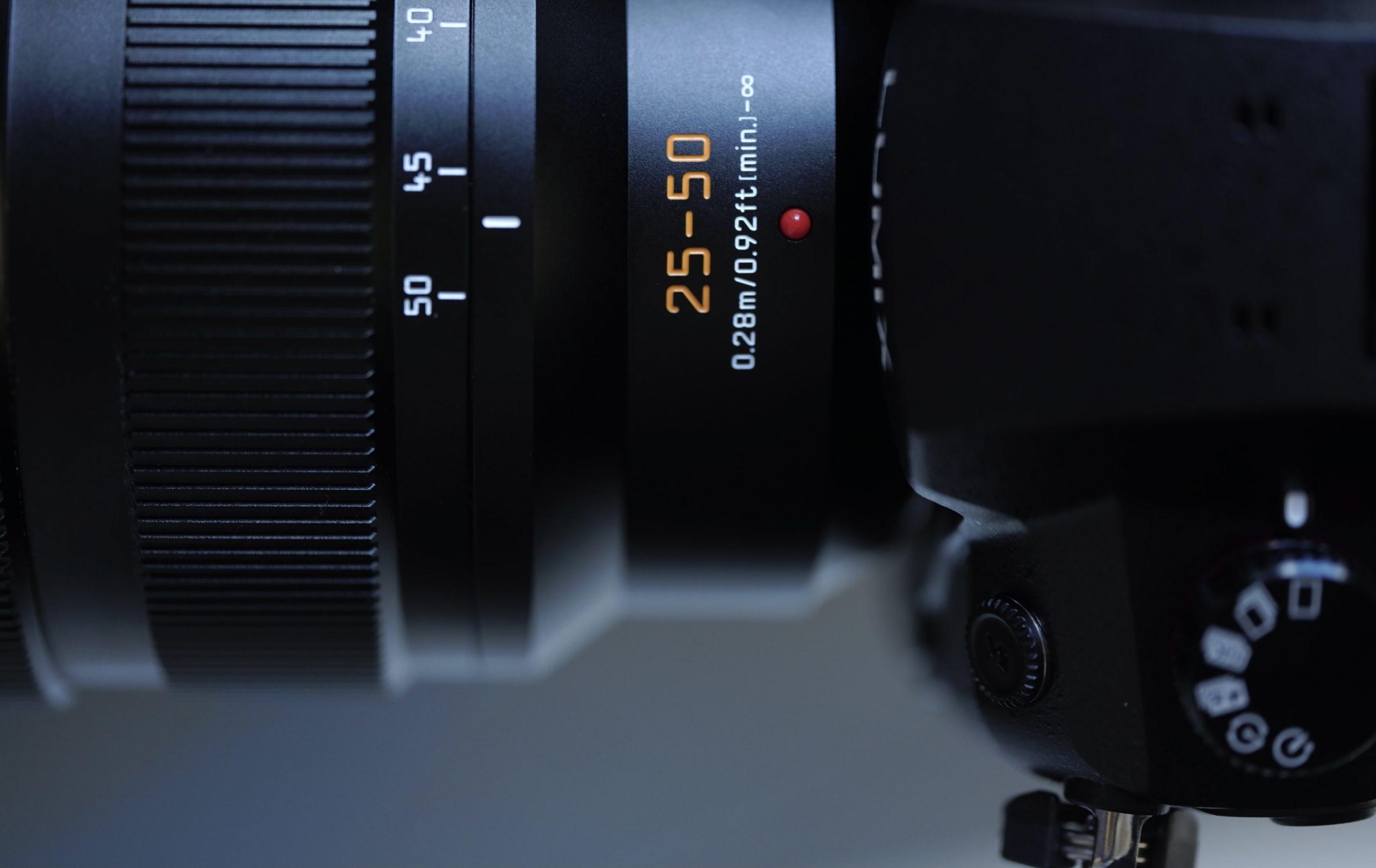 【Panasonic】本日発売!LEICA DG VARIO-SUMMILUX 25-50mm F1.7 ASPH.