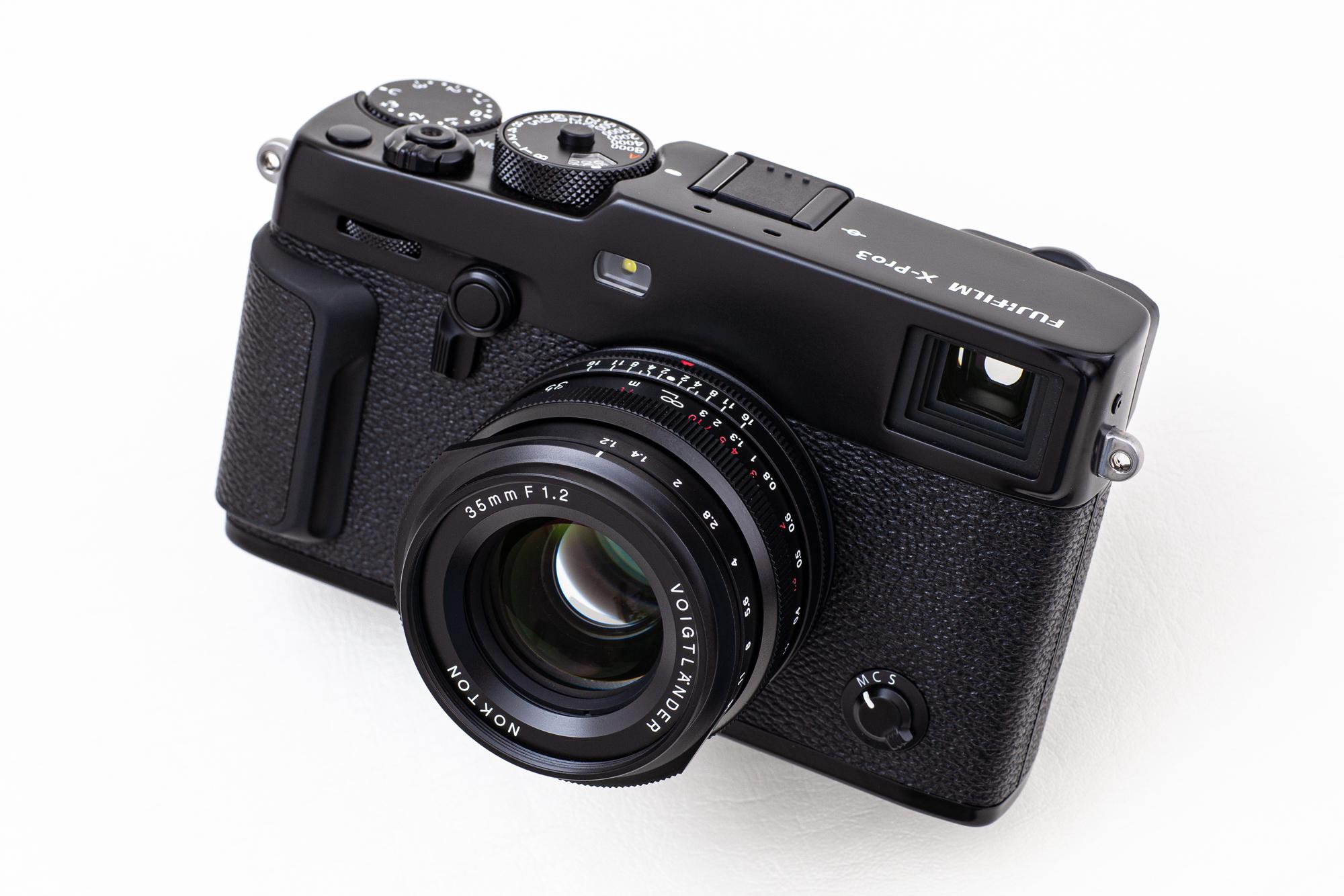 【Voigtlander】フジフイルムで使うNOKTON 35mm F1.2 X-mount