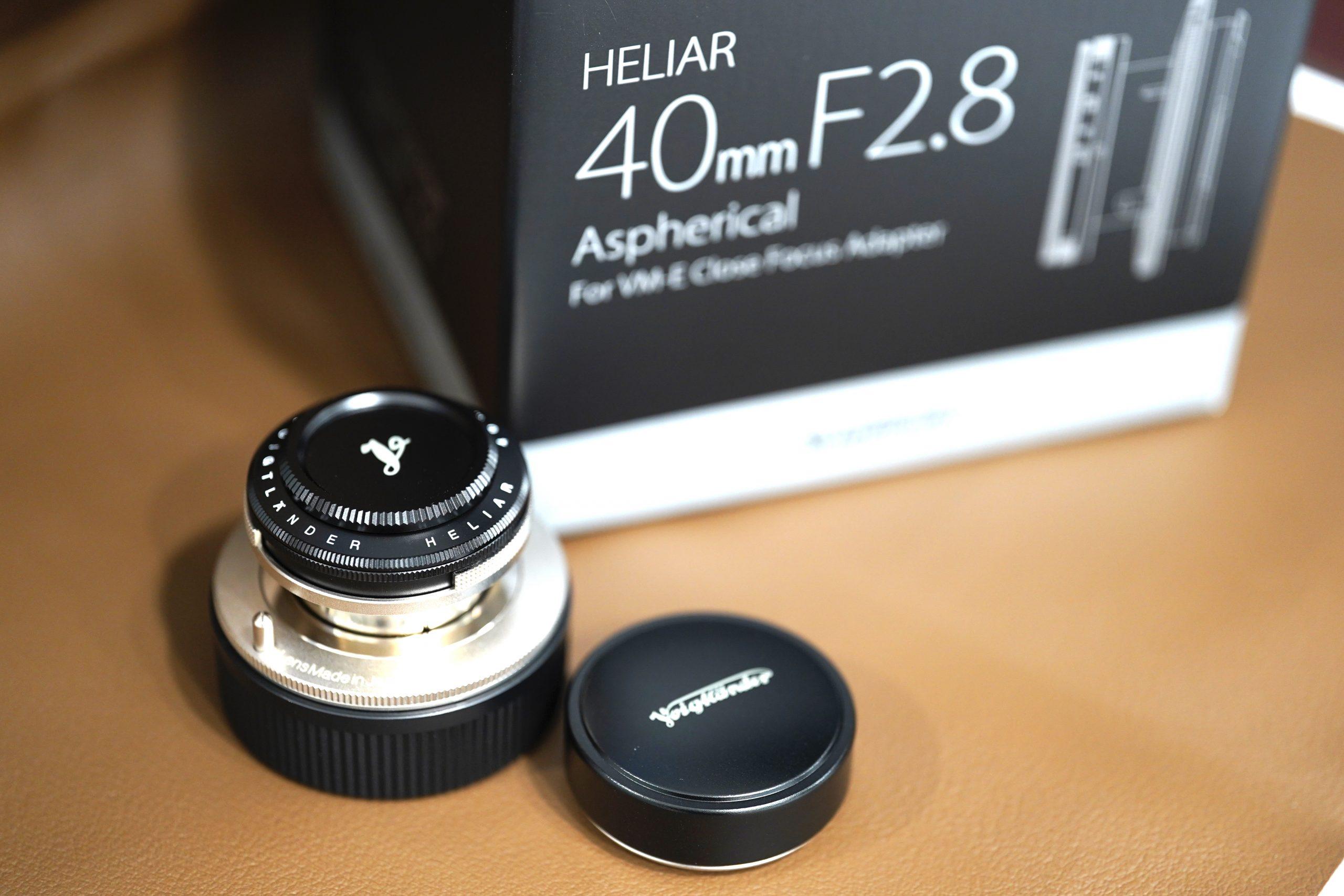 Camera Technique Vol.24『HELIAR 40mm F2.8 VM』とは?