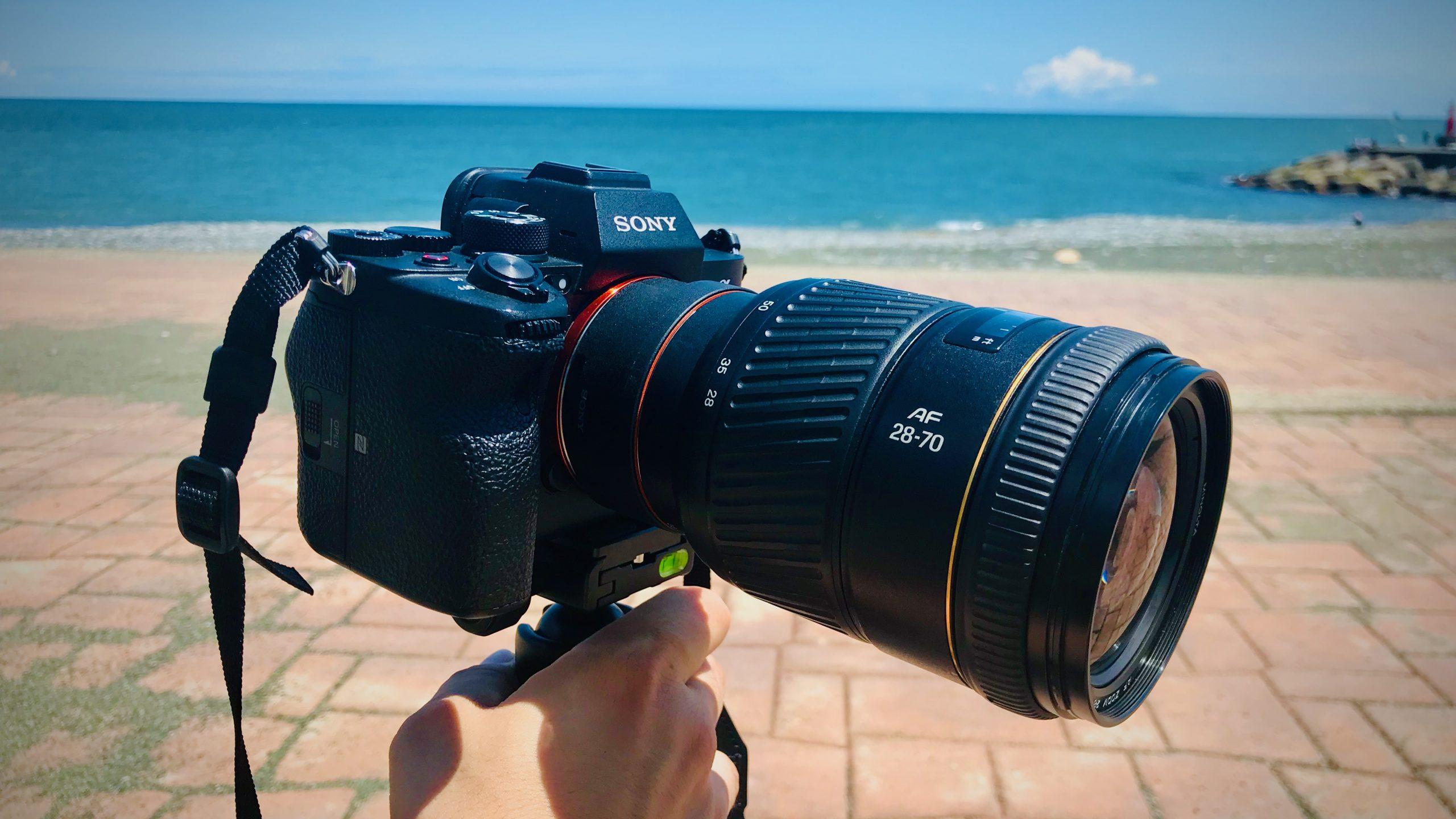 【MINOLTA】AF 28-70mm F2.8 Gで動画撮影