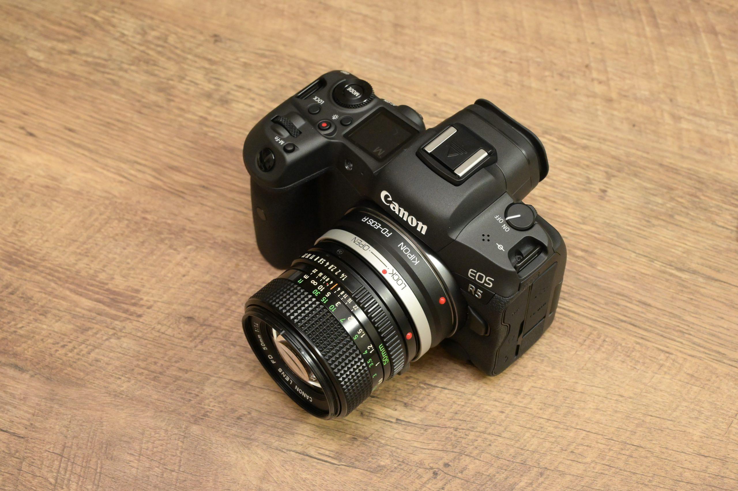 【Canon】オールドレンズ New FD50mm F1.4で動画を撮影する