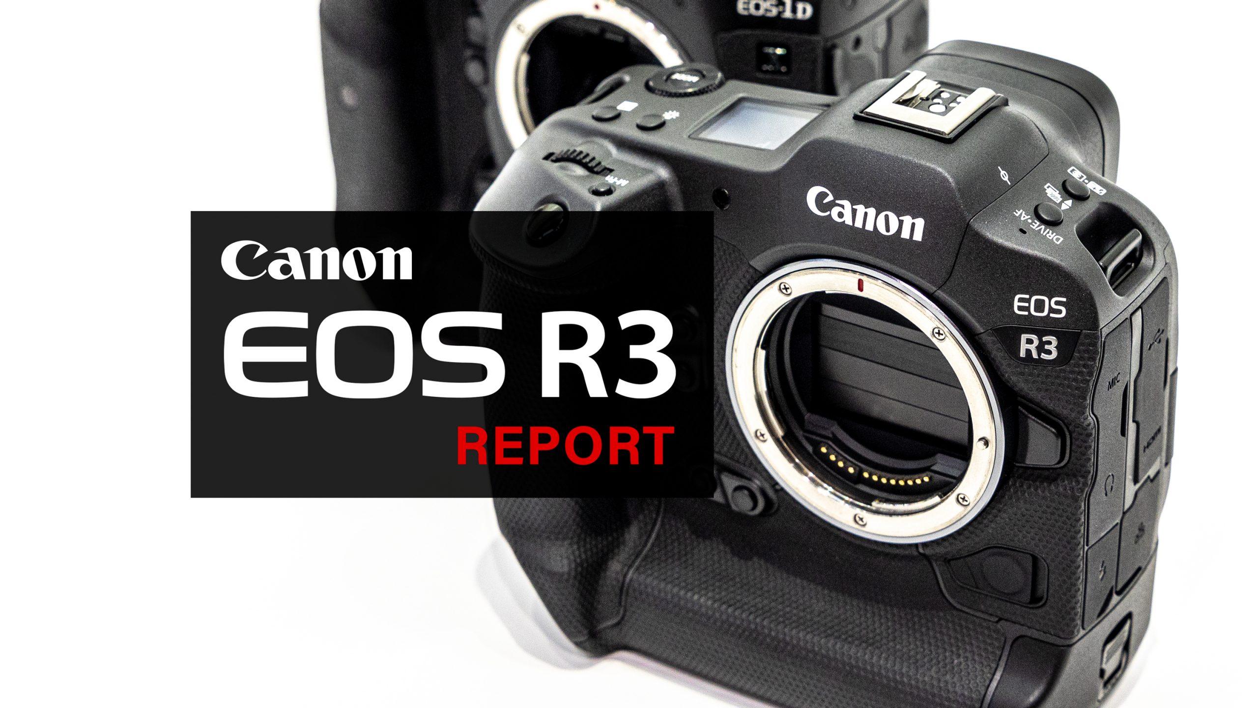 【Canon】EOS R3 先行展示 体験レポート