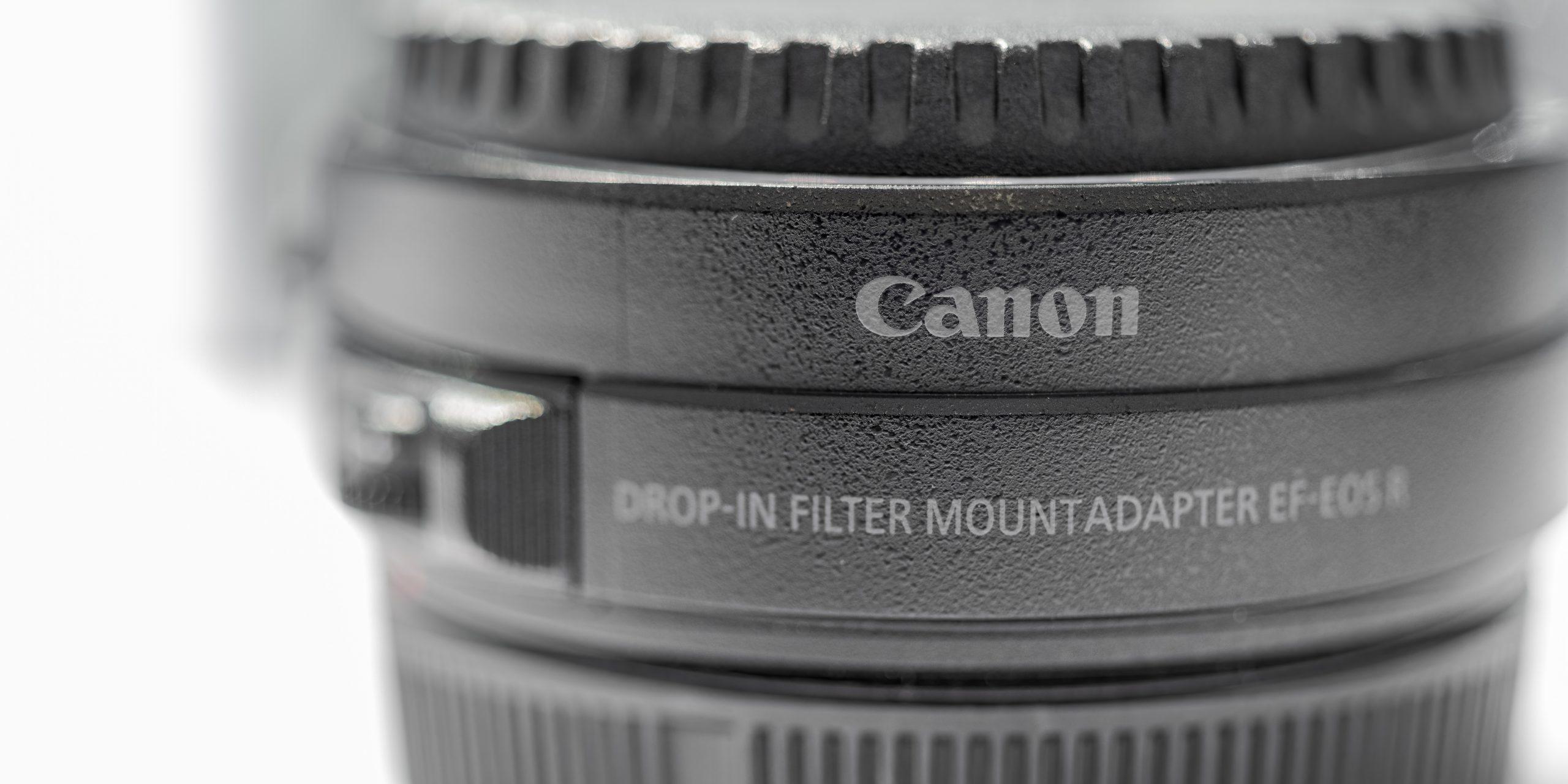 【Canon】アダプターで拡張するEOS Rシステム 「可変式NDフィルター」