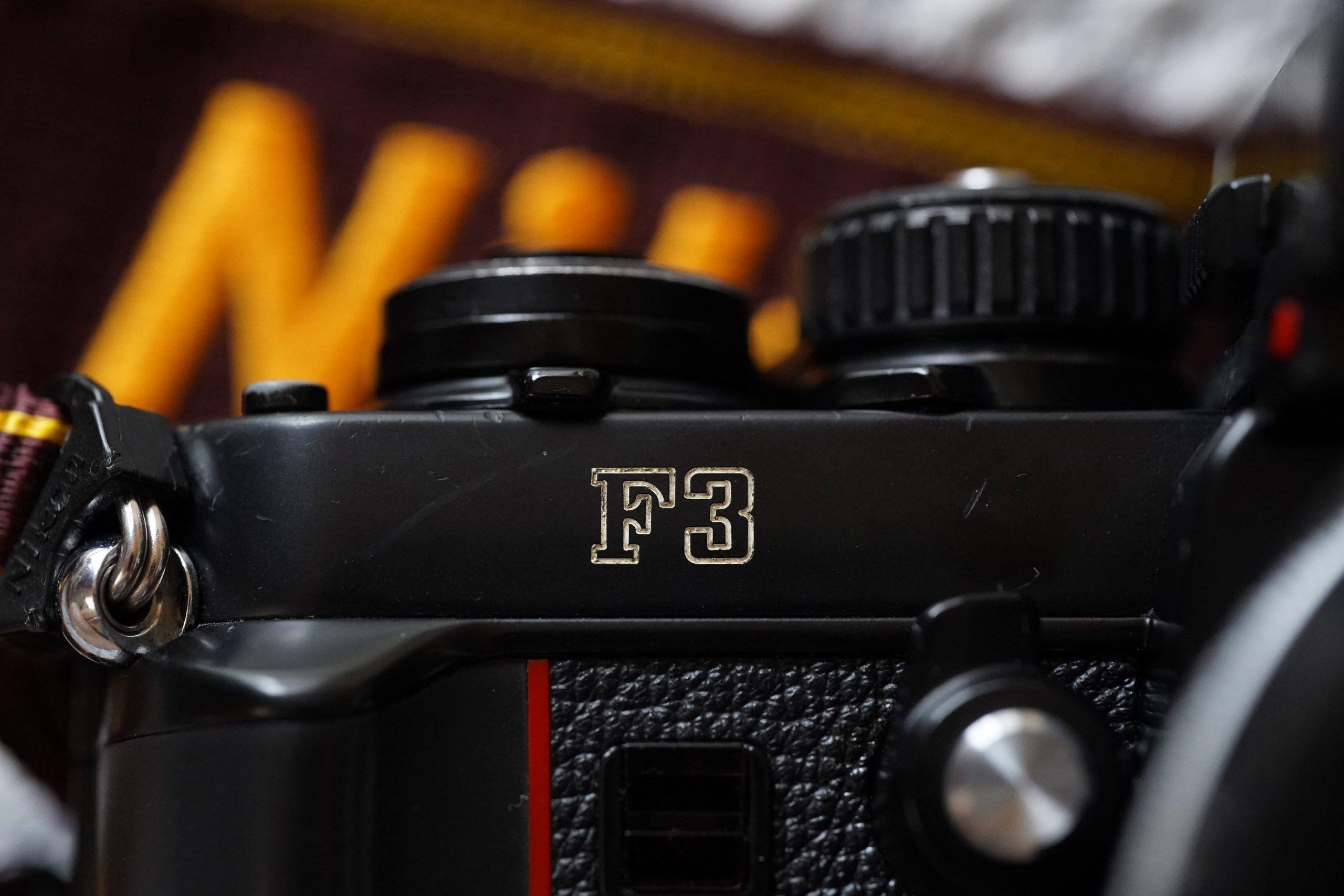 【Nikon】Nikon F3を撮る