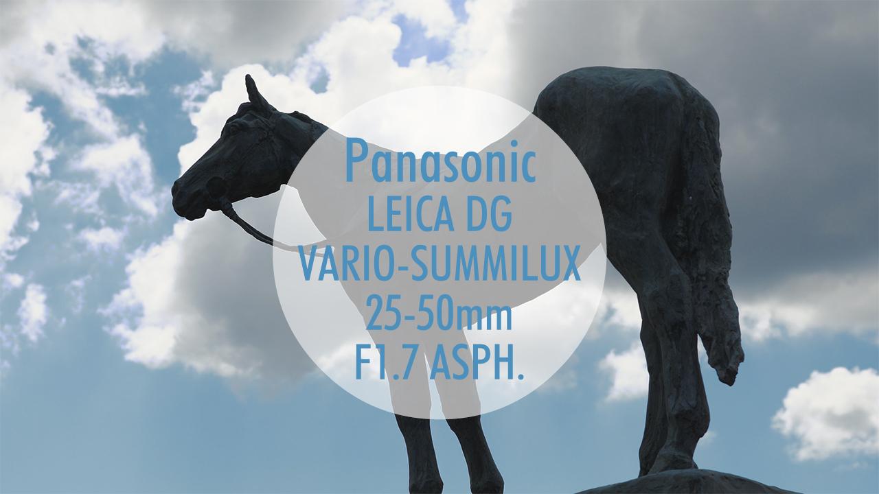 【Panasonic】映像作例 LEICA DG VARIO-SUMMILUX 25-50mm F1.7 ASPH.