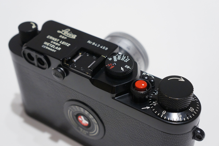 IIIg 後塗りブラック + ズミクロン L50mm F2 沈胴