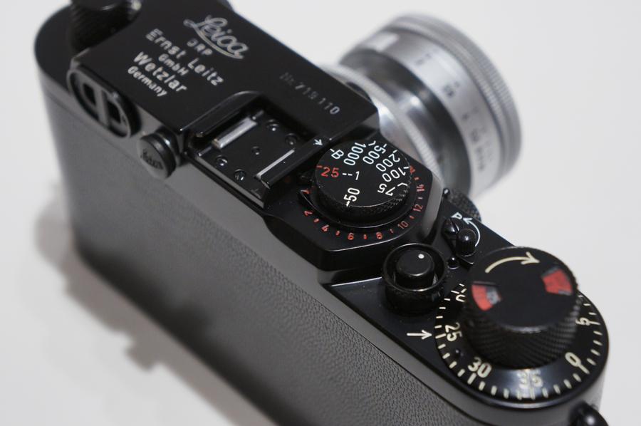 IIIf 後塗りブラック + ズミクロン L50mm F2 沈胴