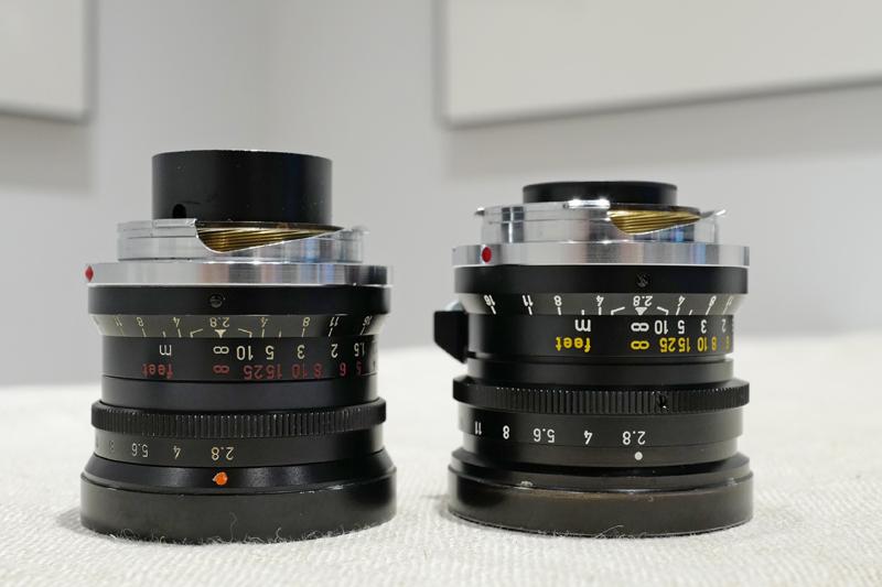 Elmarit M28mm F2.8 1st & Elmarit M28mm F2.8 2nd