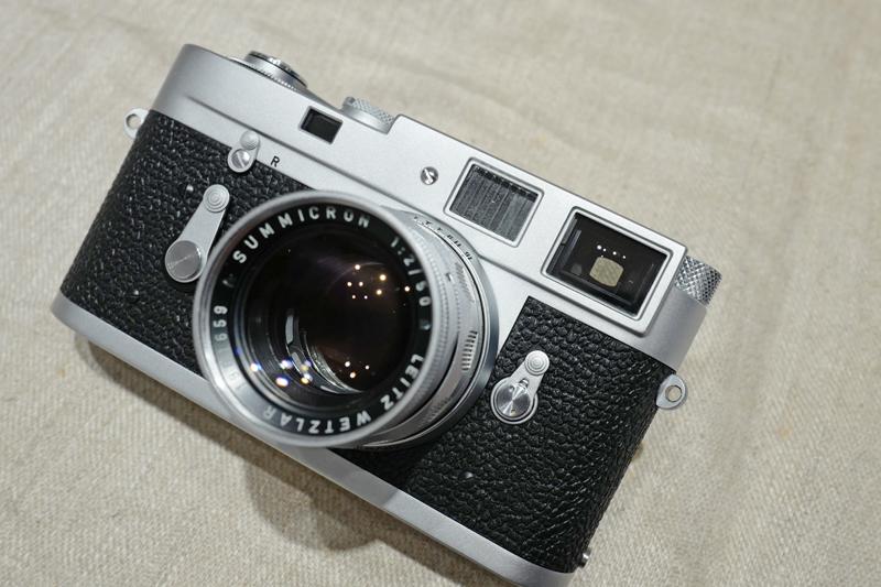 Leica M2-R + Summicron M50mm F2 1st Rigid