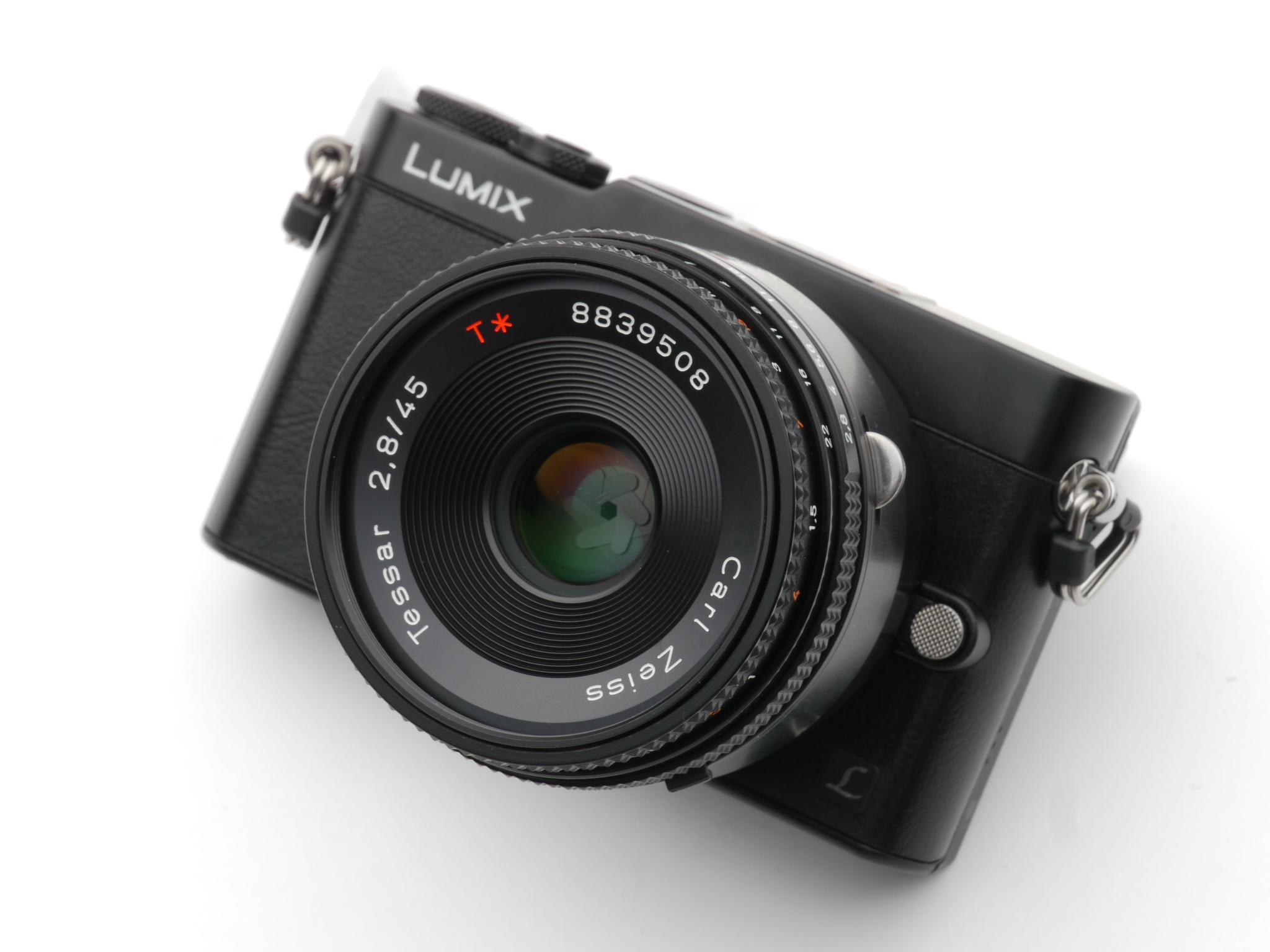 Panasonic (パナソニック) LUMIX DMC-GM5 + CONTAX (コンタックス) Tessar T*45mm F2.8 MM