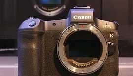【Canon】EOS R 本日先行展示開始しました!