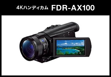 SONY (ソニー) デジタル4Kビデオカメラレコーダー HANDYCAM FDR-AX100