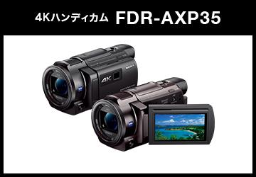 SONY (ソニー) デジタル4Kビデオカメラレコーダー HANDYCAM FDR-AXP35