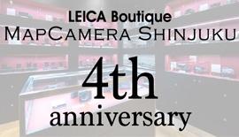 【Leica】ライカブティックMapCamera Shinjuku 4th Anniv.