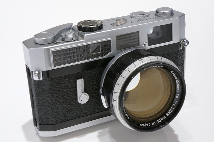 Canon 7 + Canon L 50mm F1.2